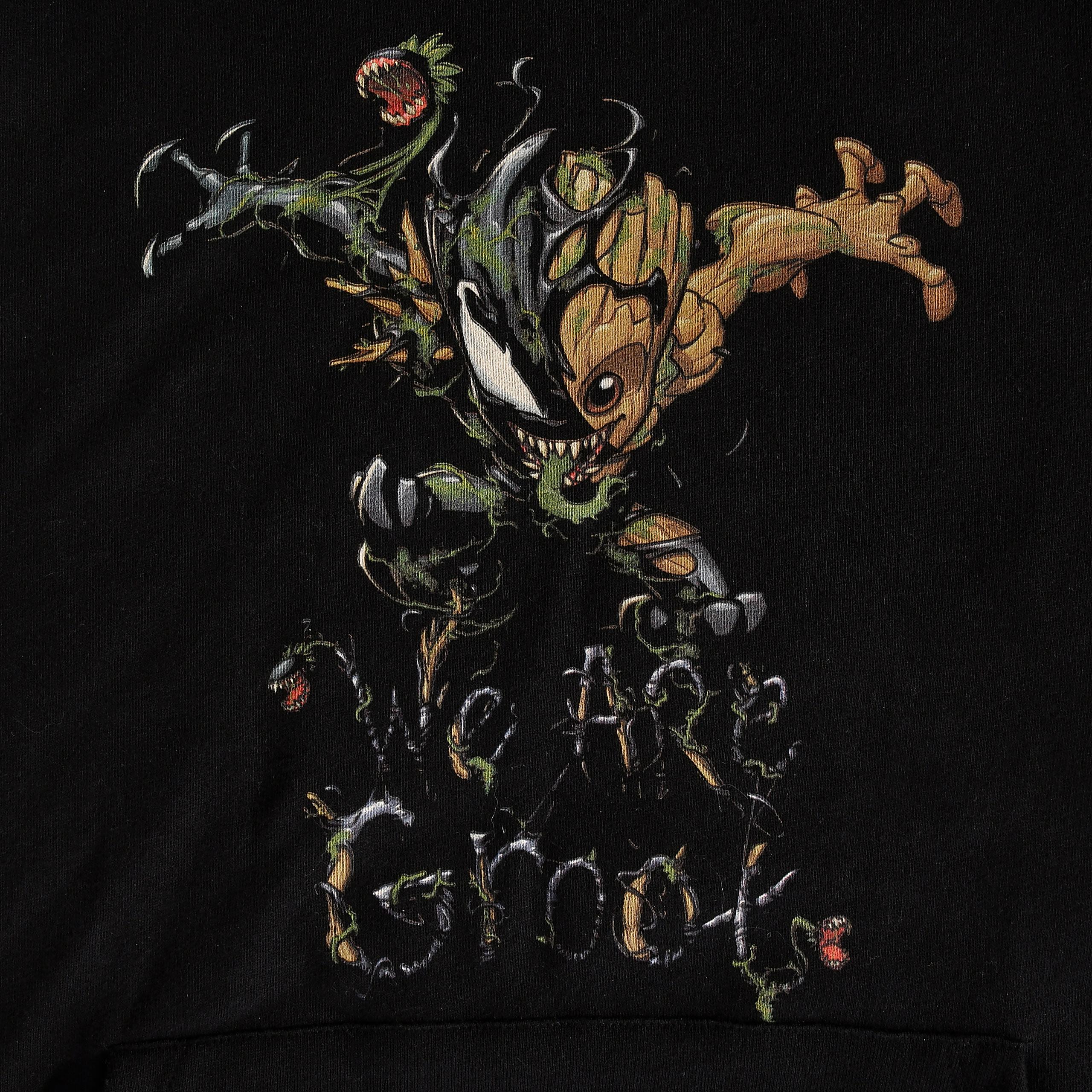 Guardians of the Galaxy - Venomized Groot Hoodie schwarz