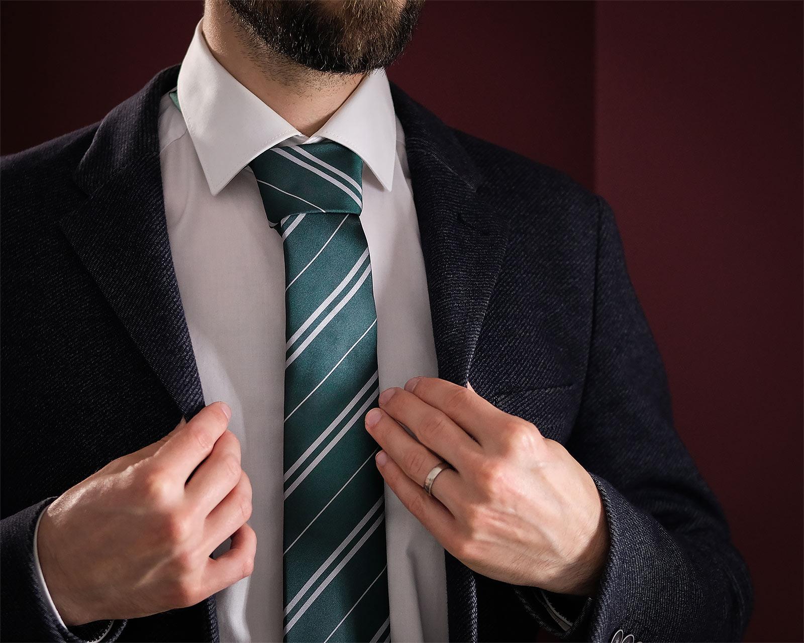 Harry Potter - Slytherin Krawatte mit Geschenkbox