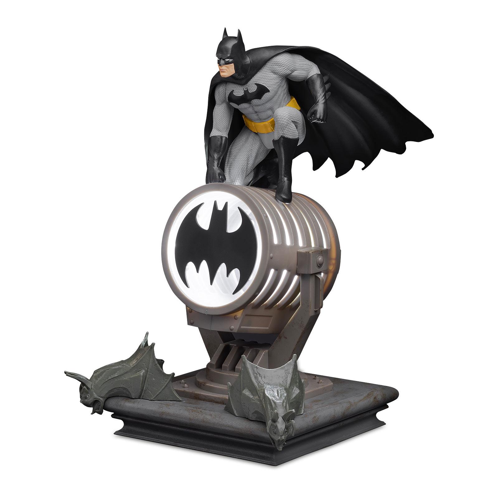 Batman - Logo Tischlampe mit Projektion