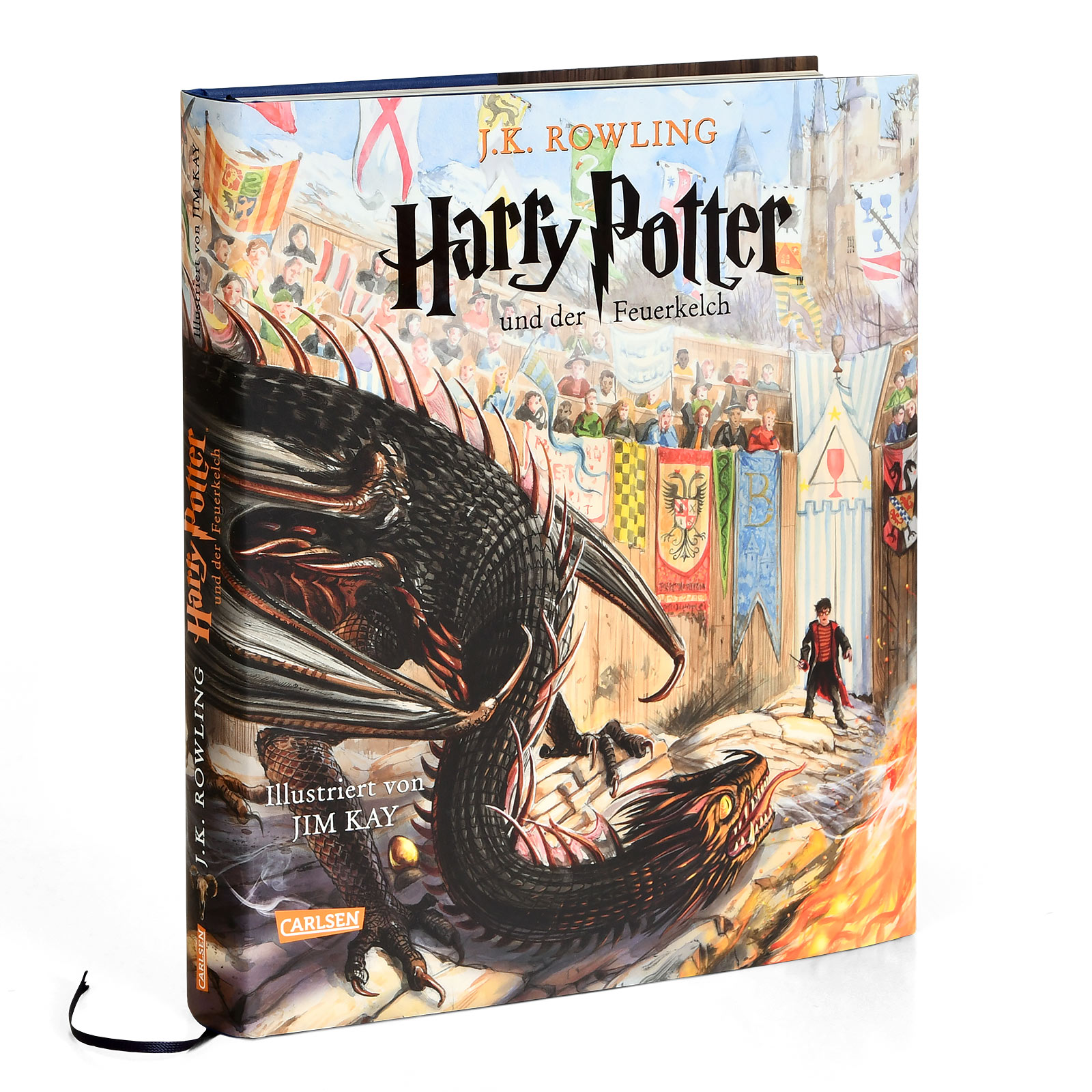 Harry Potter und der Feuerkelch - Schmuckausgabe
