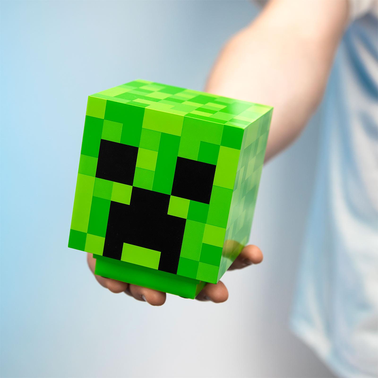 Minecraft - Creeper Lampe mit Sound
