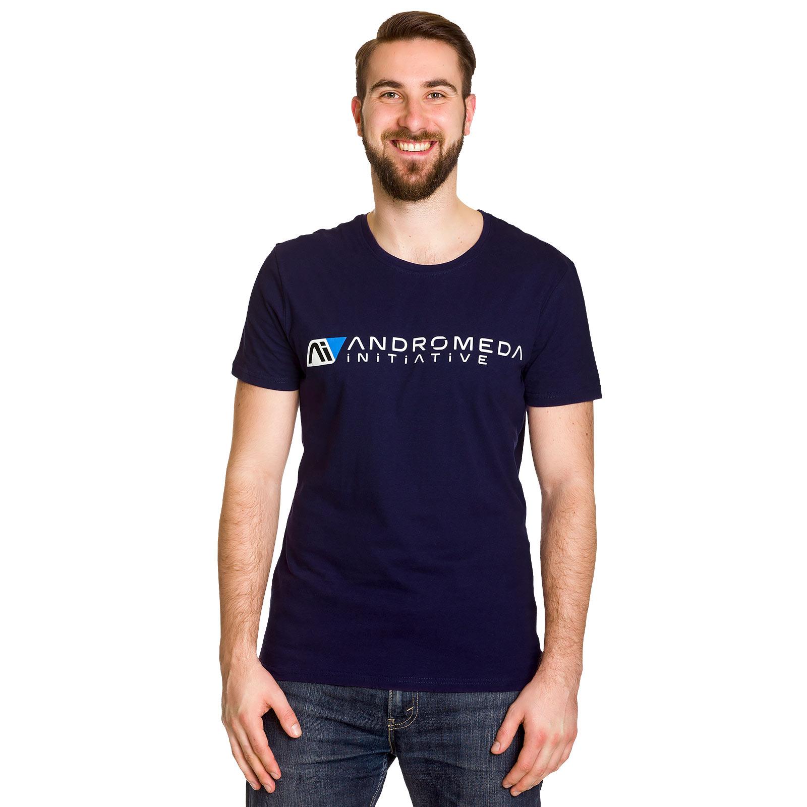 Mass Effect - Andromeda Initiative T-Shirt blau