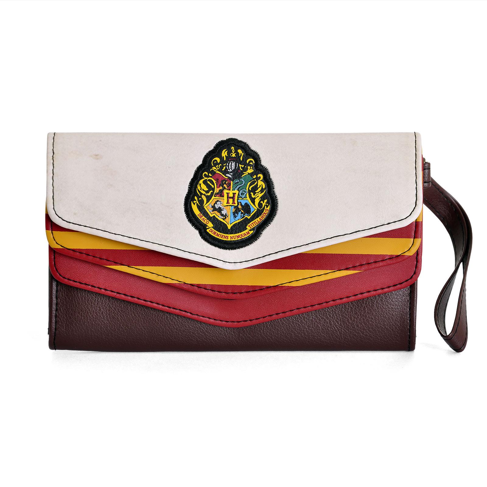 Harry Potter - Vintage Geldbörse mit Hogwarts Wappen