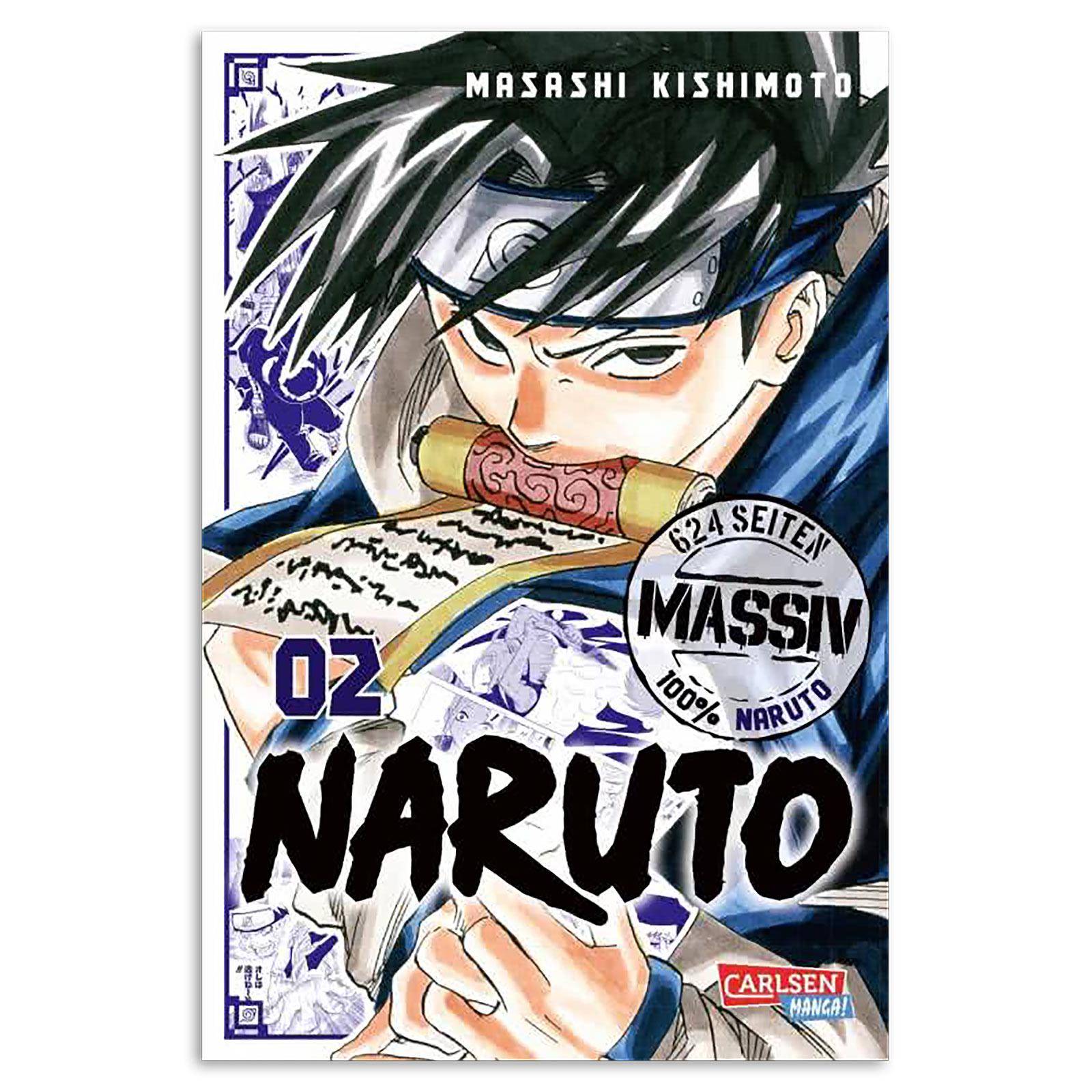 Naruto - Sammelband 2 Taschenbuch