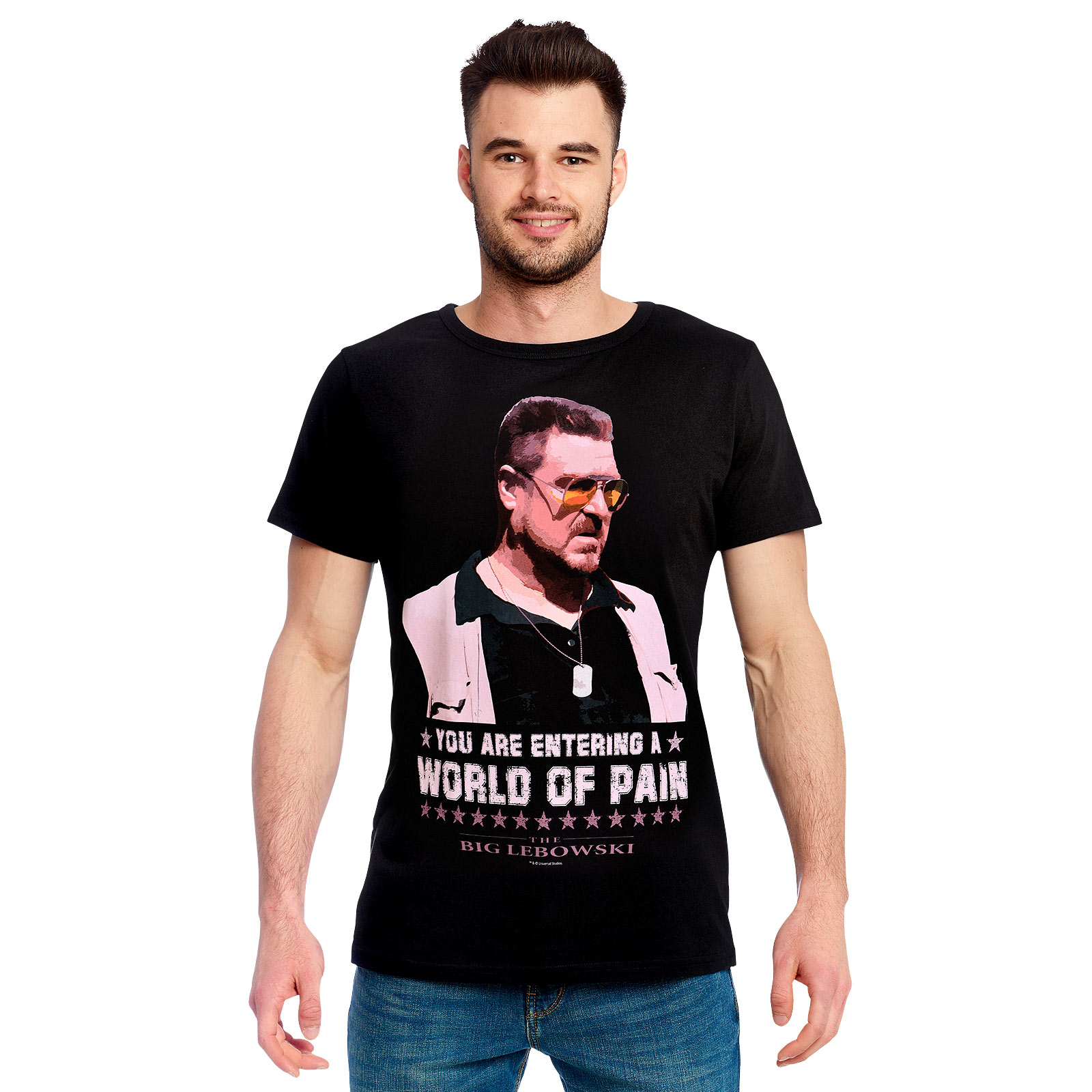 The Big Lebowski - World of Pain T-Shirt schwarz