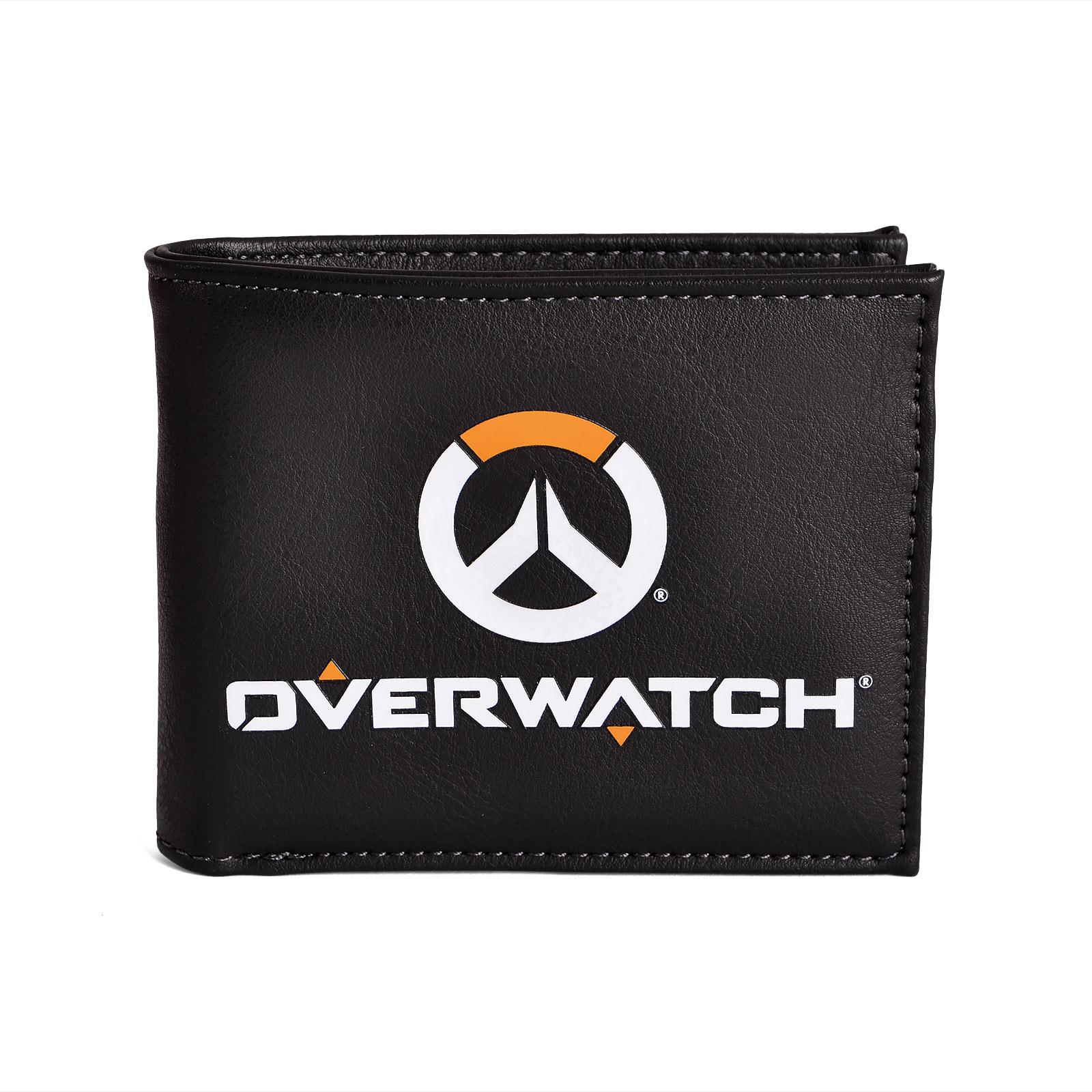 Overwatch - Logo Geldbörse schwarz