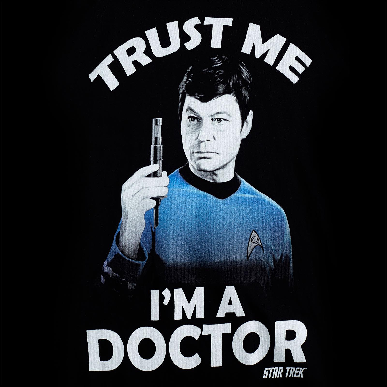 Star Trek - McCoy Trust Me T-Shirt schwarz