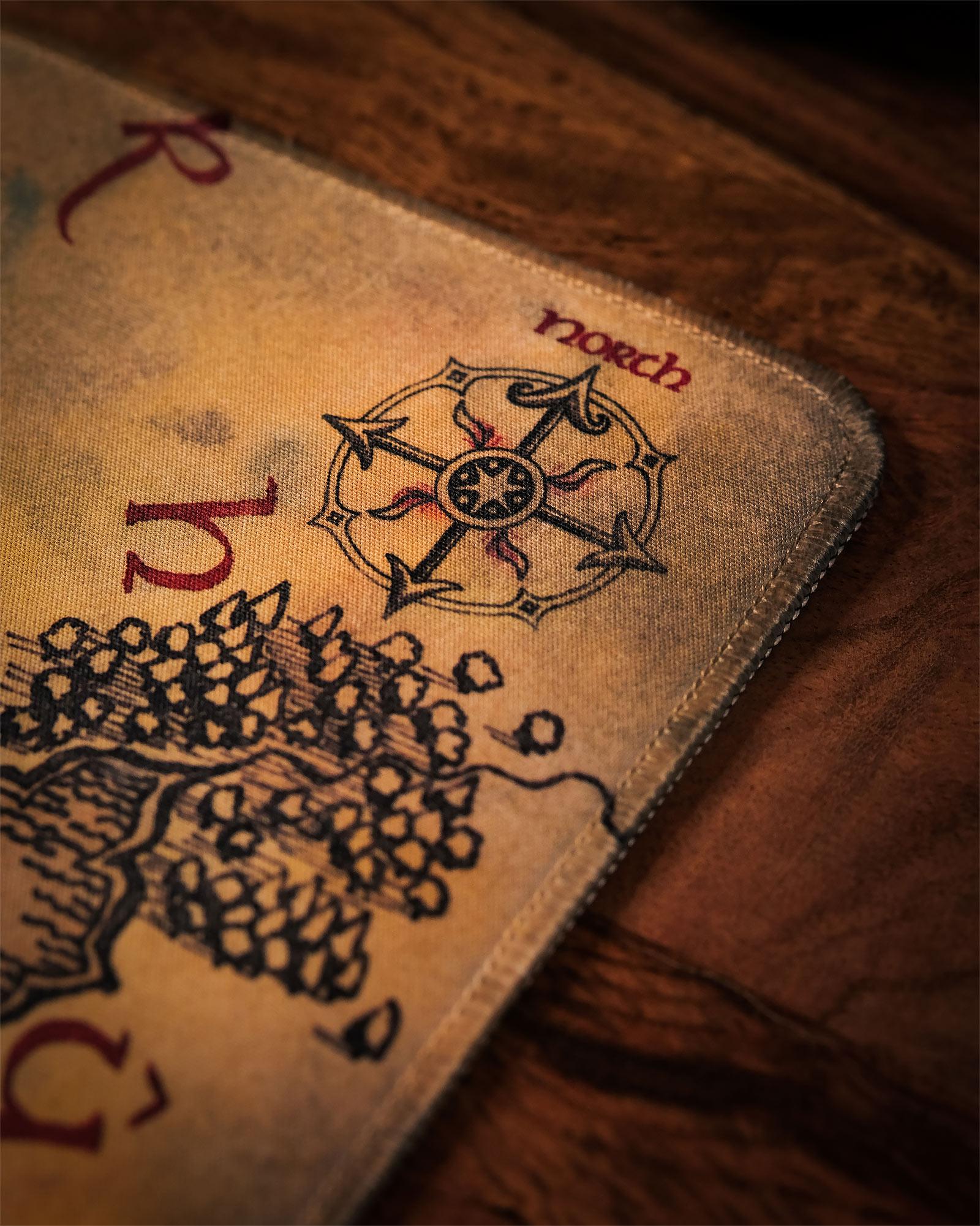 Herr der Ringe - Mittelerde Karte Mousepad