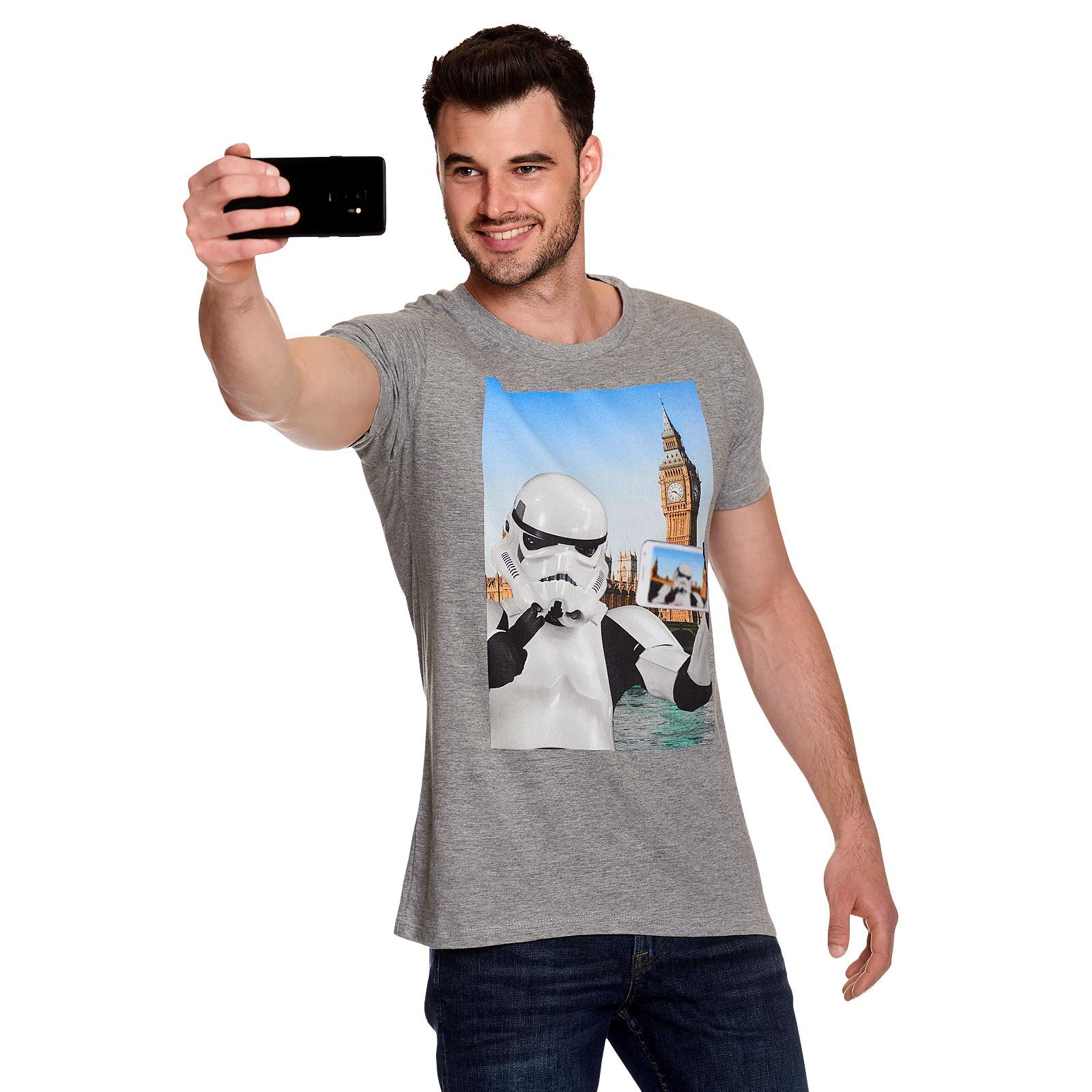 Original Stormtrooper Selfie London T-Shirt grau