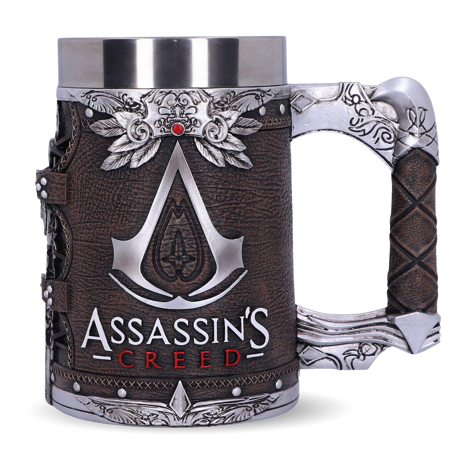 Assassin's Creed - Logo Krug deluxe braun