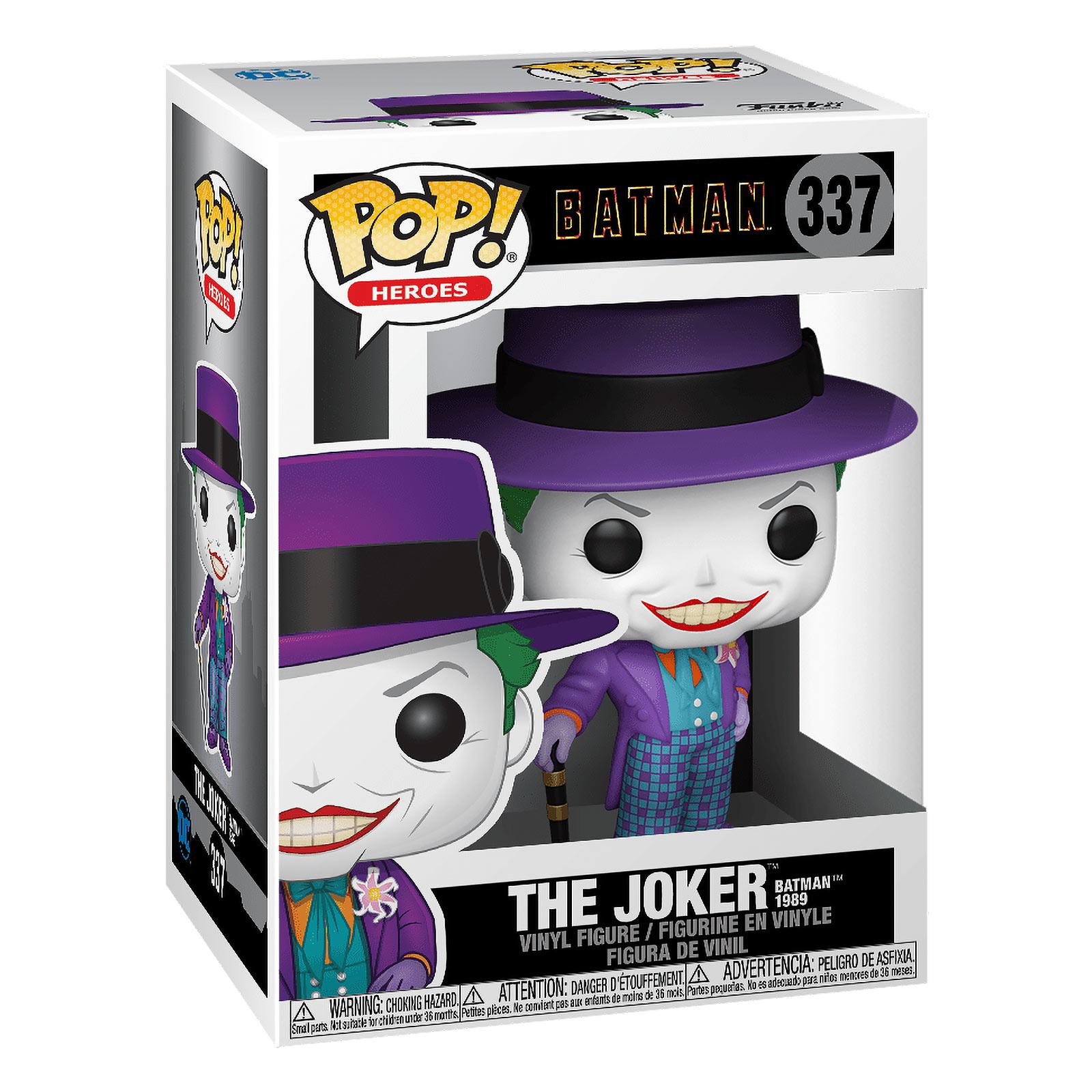 Batman - 1989 Joker mit Hut Funko Pop Figur