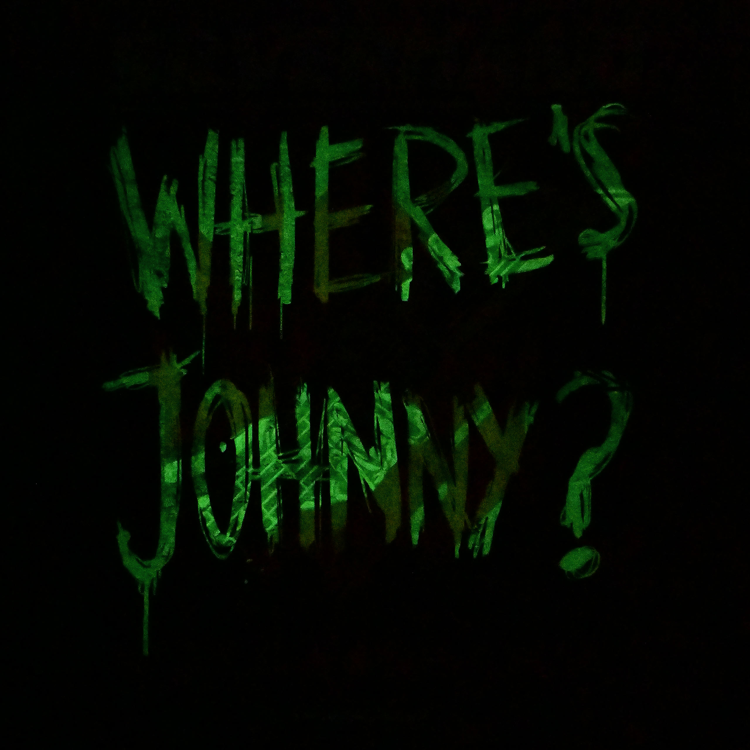 Cyberpunk 2077 - Johnny Fade Glow in the Dark T-Shirt schwarz