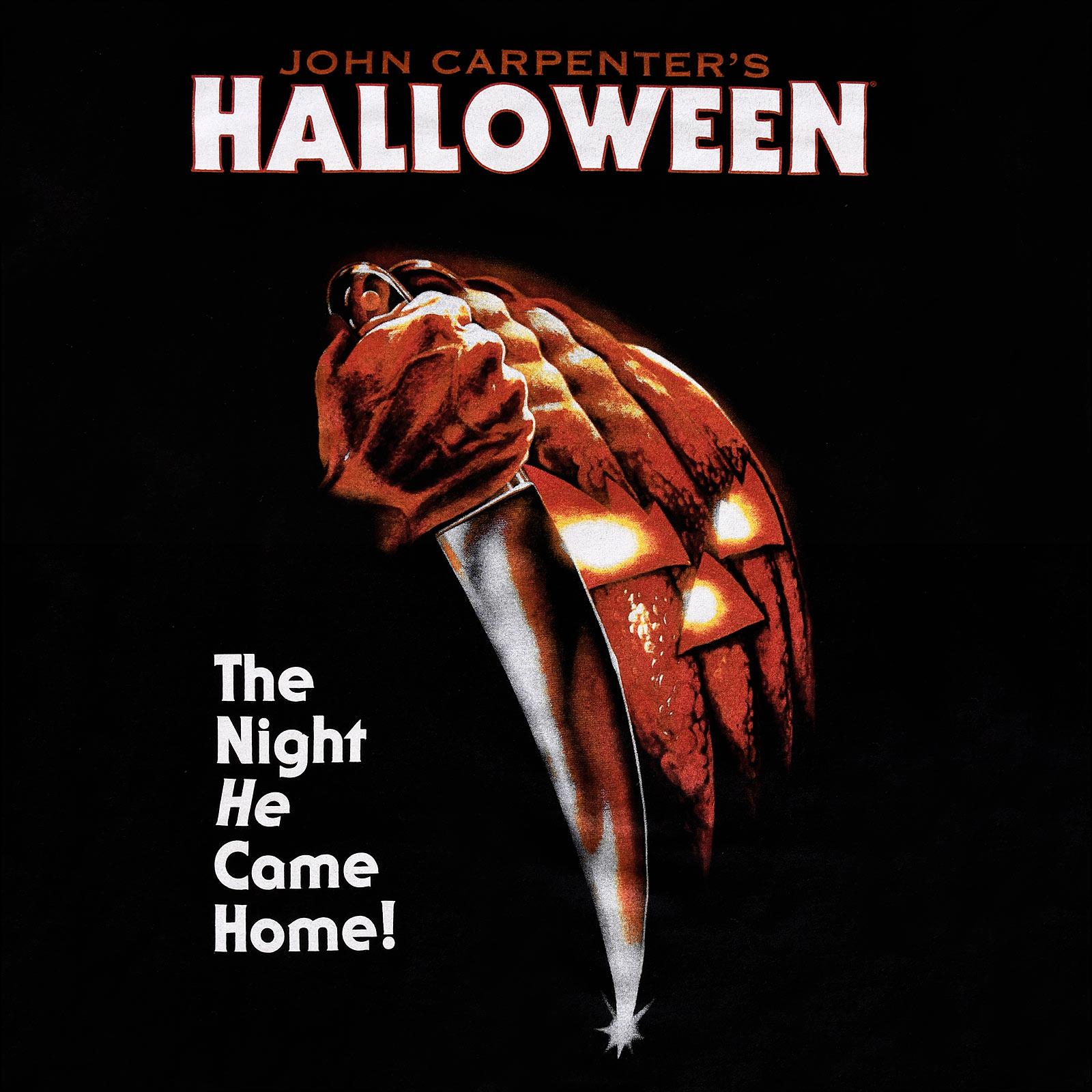 Halloween - Movie Poster T-Shirt schwarz