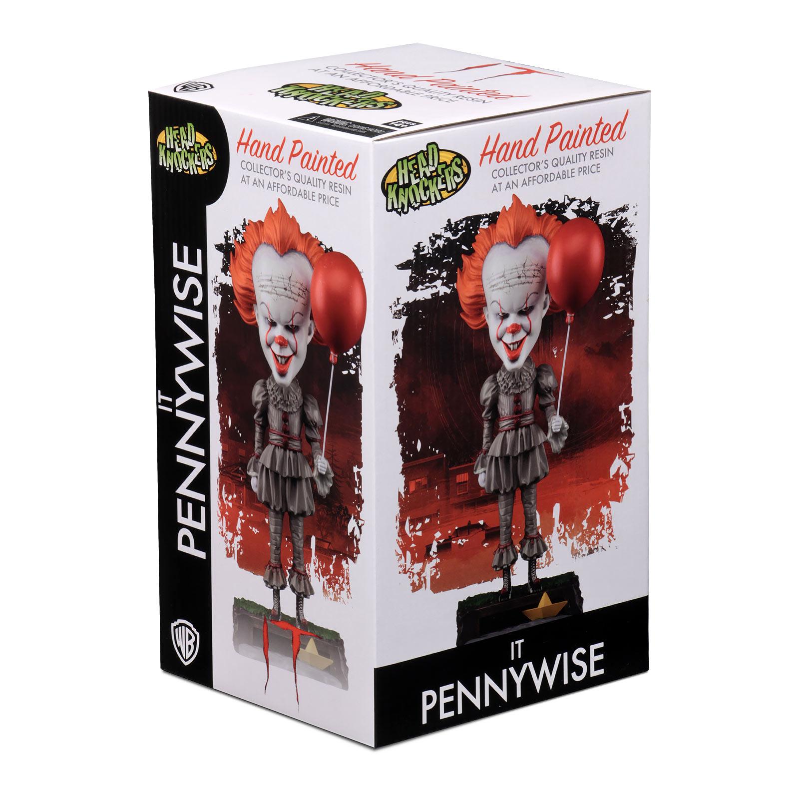 Stephen Kings ES - Pennywise Head Knockers Wackelkopf-Figur