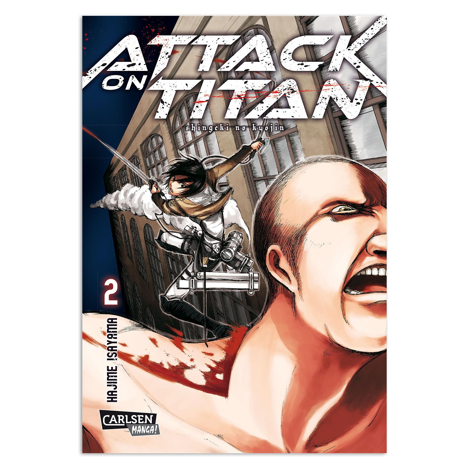 Attack on Titan - Band 2 Taschenbuch