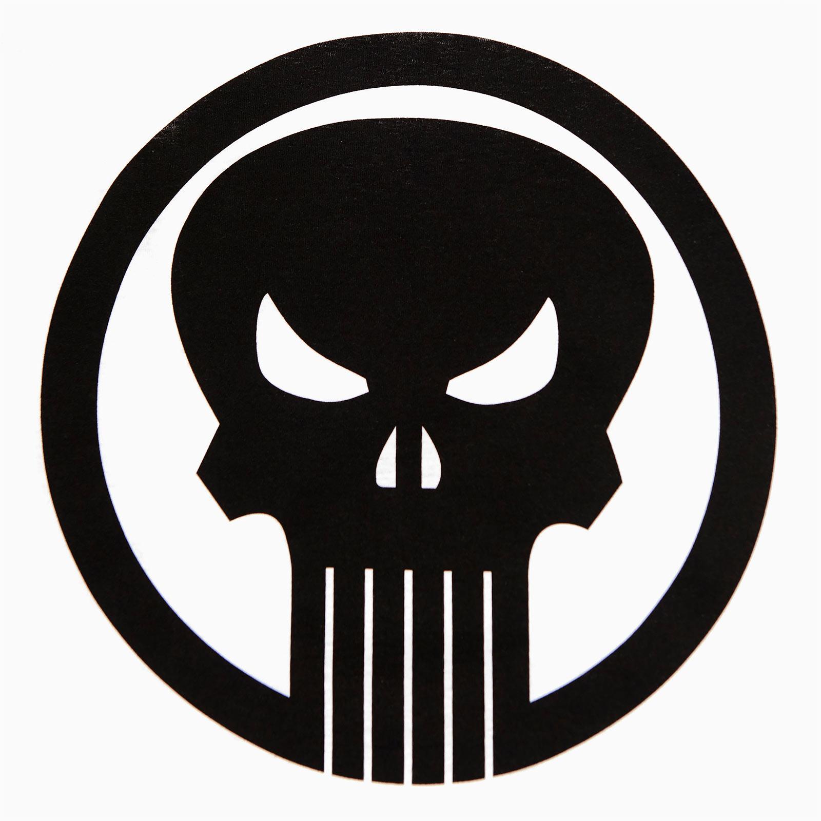 Punisher - Skull Logo Longsleeve