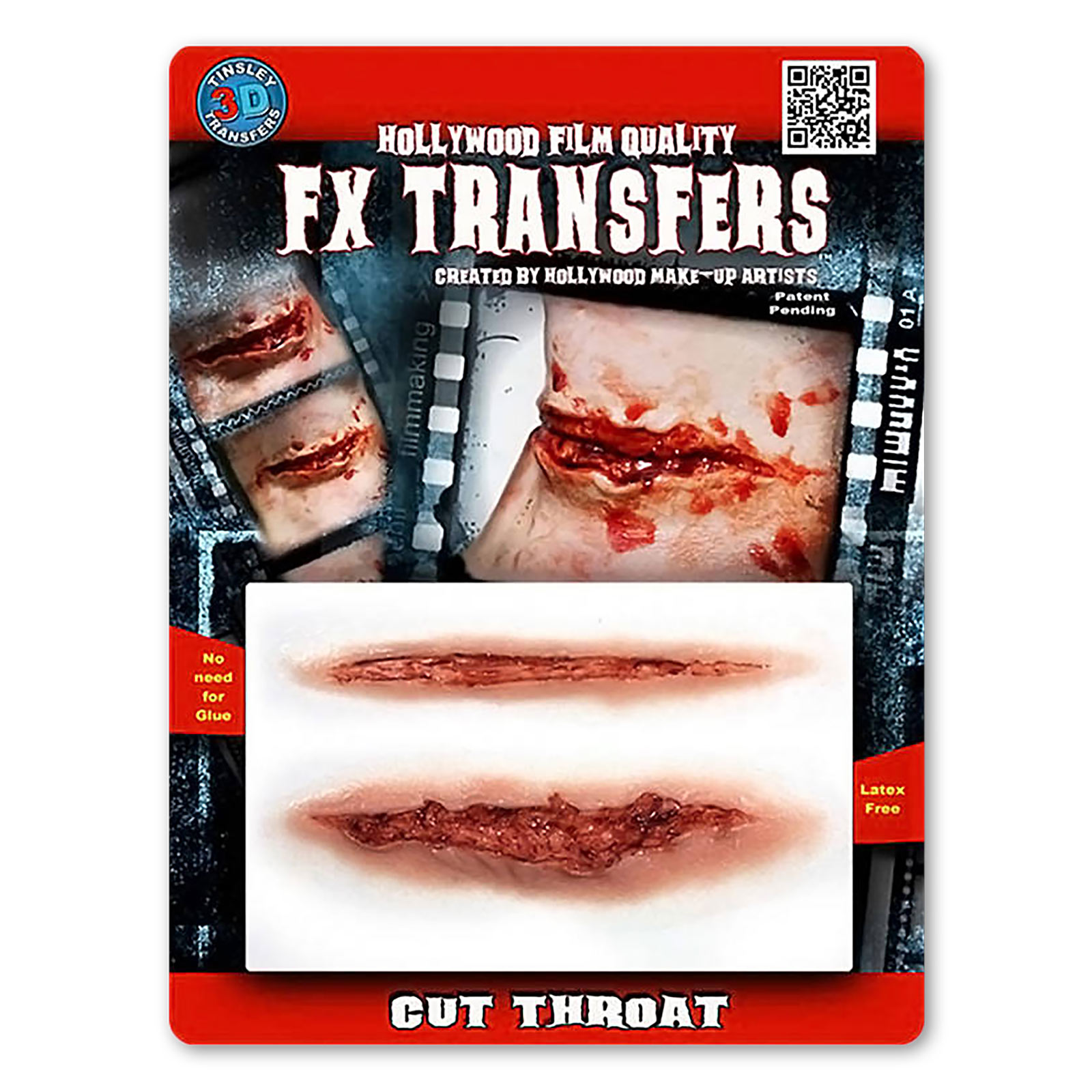 Schnittwunde 3D FX Transfers