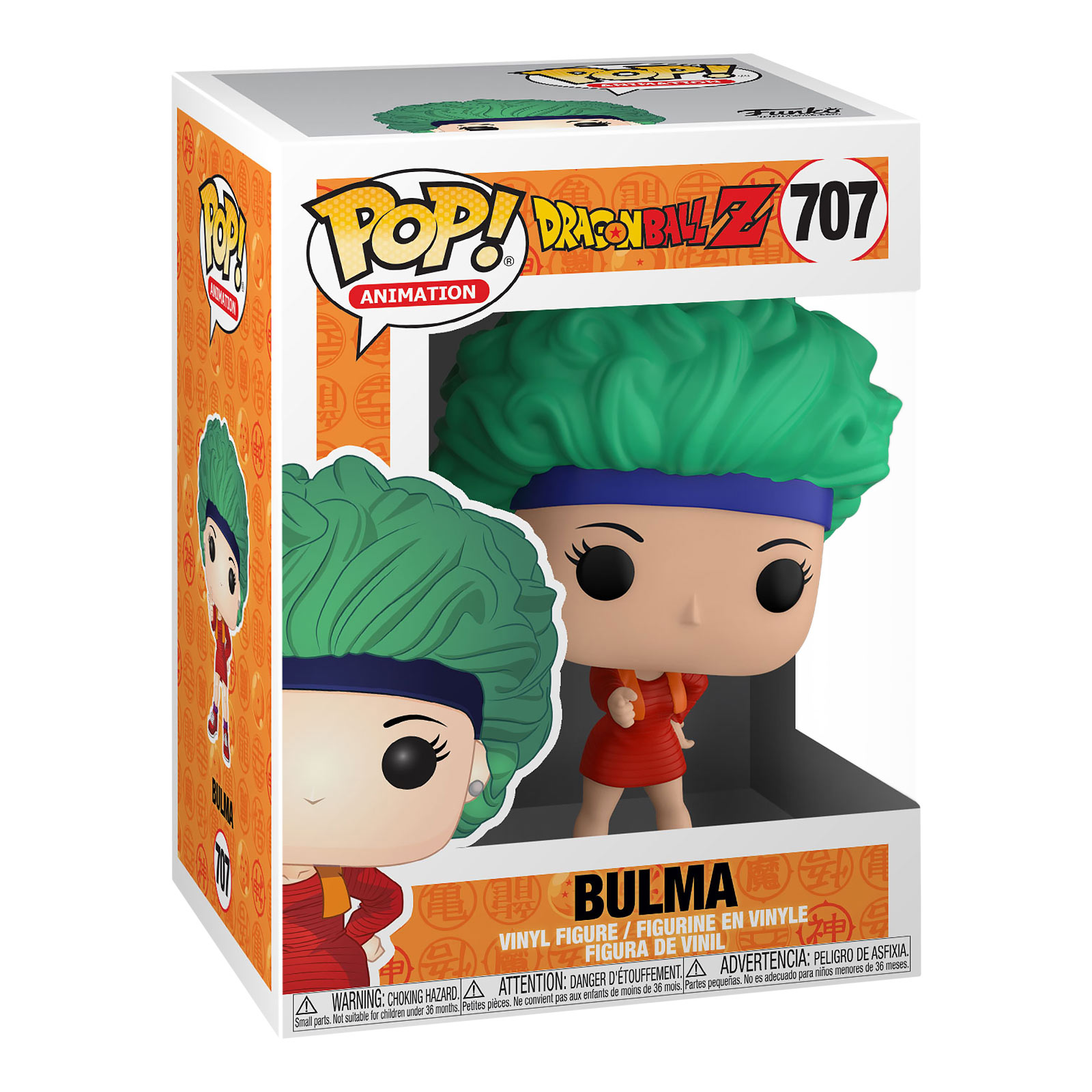 Dragon Ball Z - Bulma Funko Pop Figur