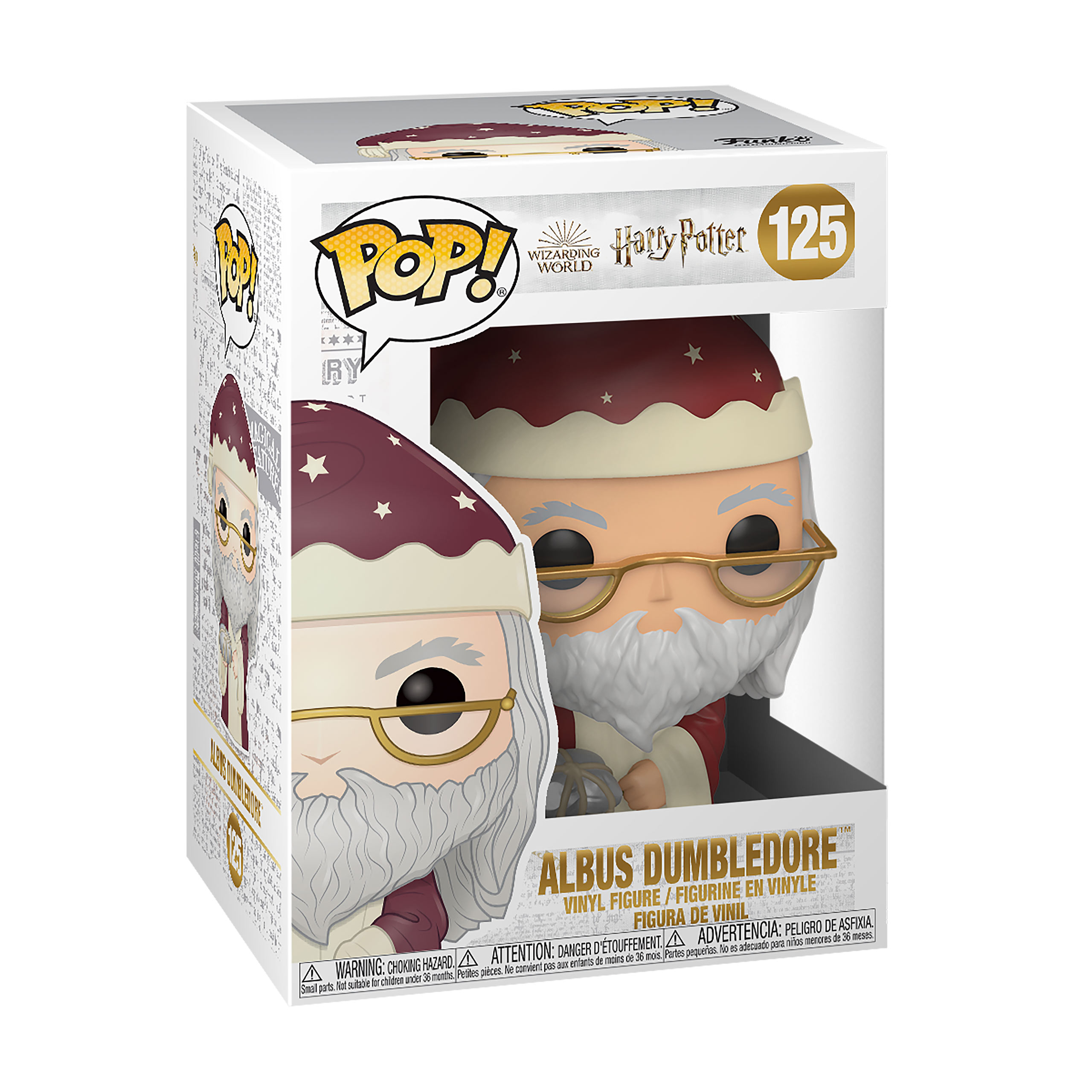 Harry Potter - Dumbledore Holiday Funko Pop Figur