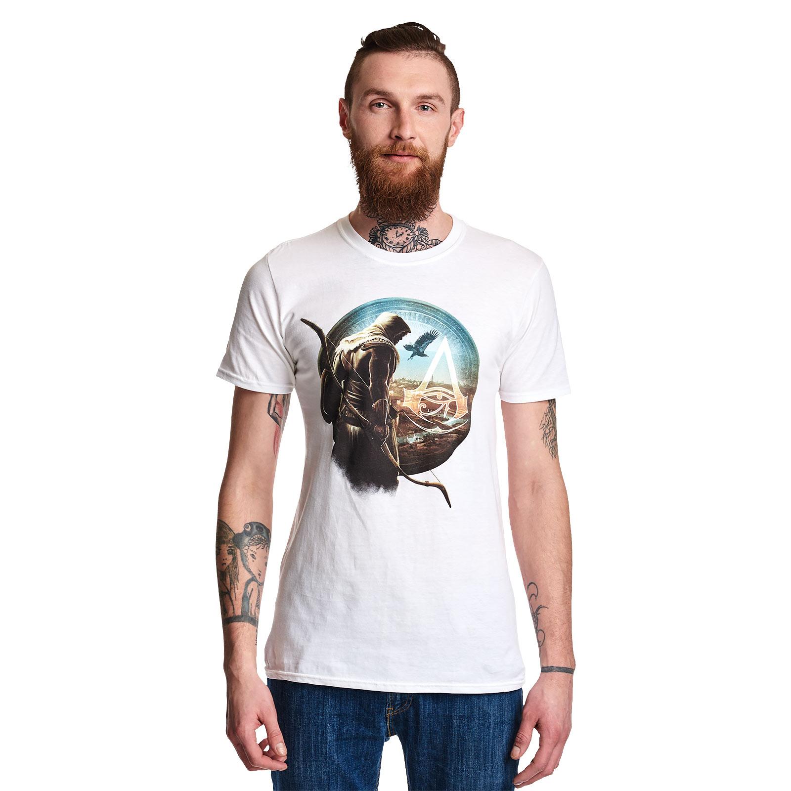 Assassins Creed - Bayek T-Shirt weiß
