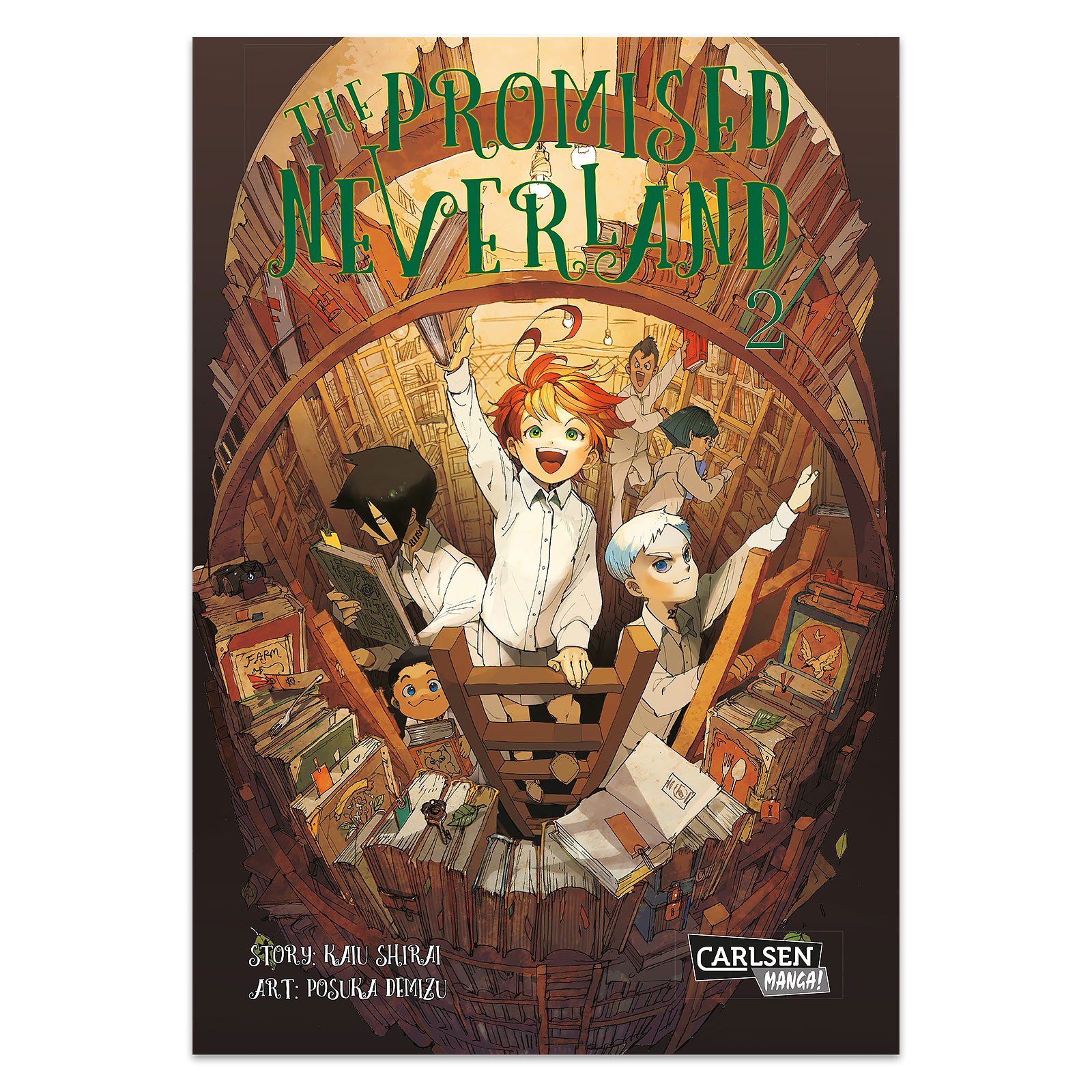 The Promised Neverland - Band 2 Taschenbuch