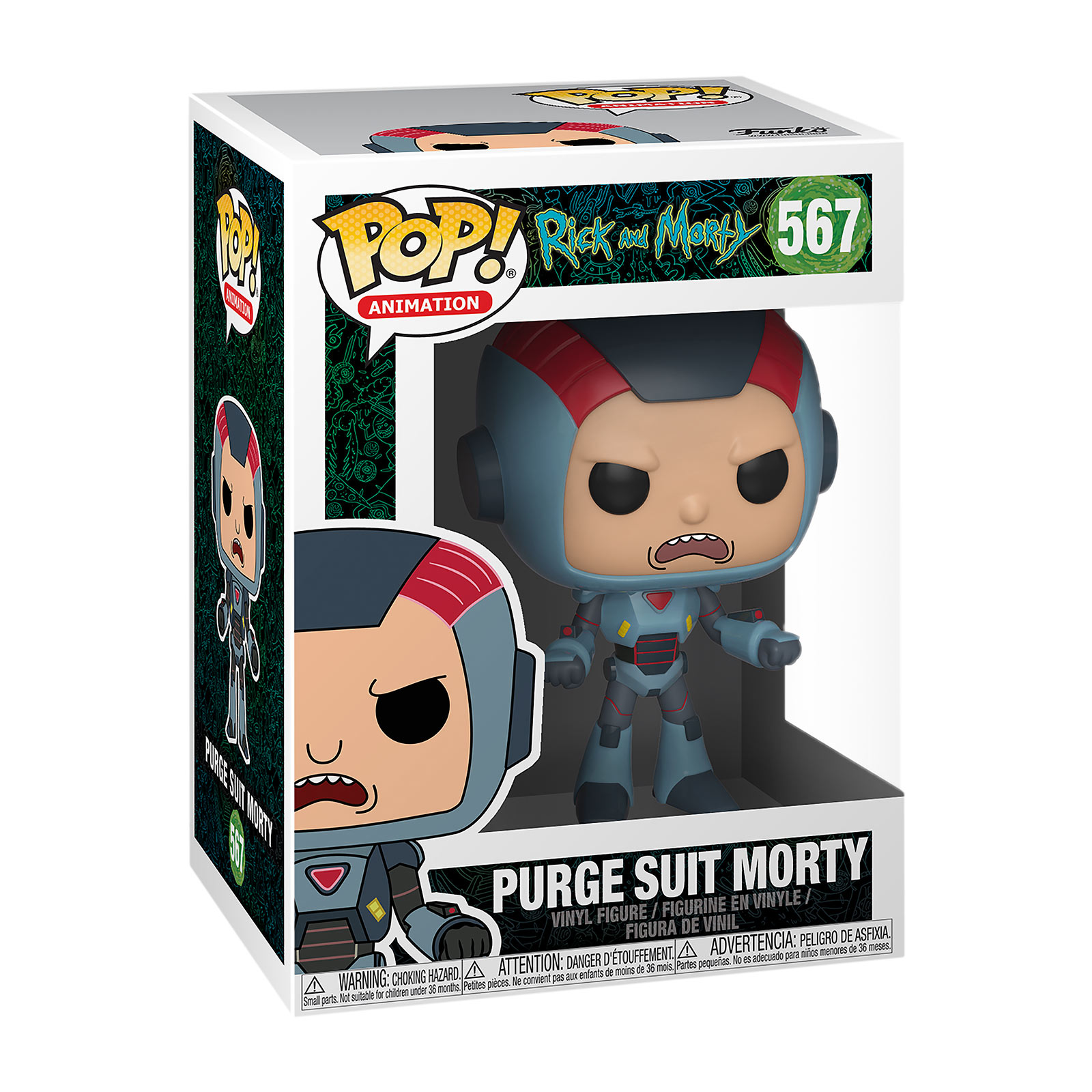 Rick and Morty - Purge Suit Morty Funko Pop Figur
