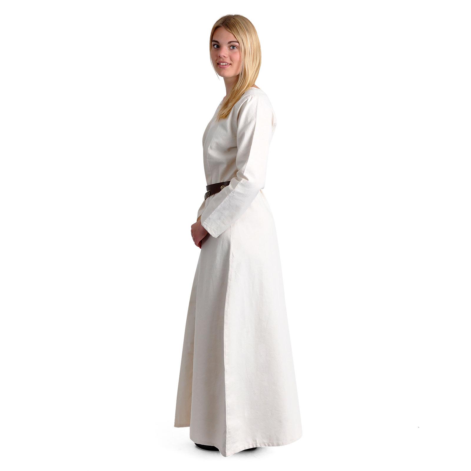 Mittelalter Unterkleid Freya natur