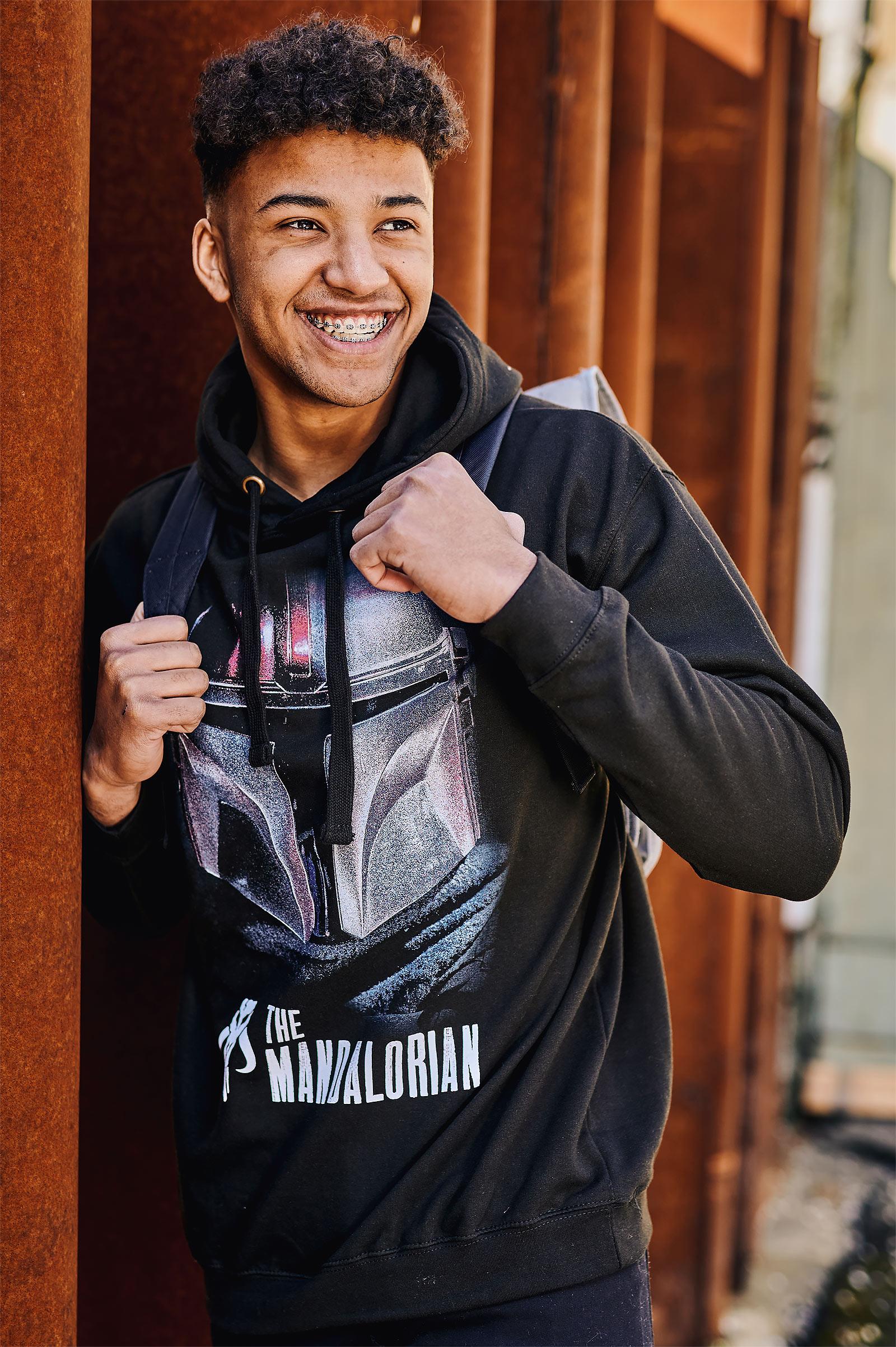 The Mandalorian Dark Warrior Hoodie schwarz - Star Wars
