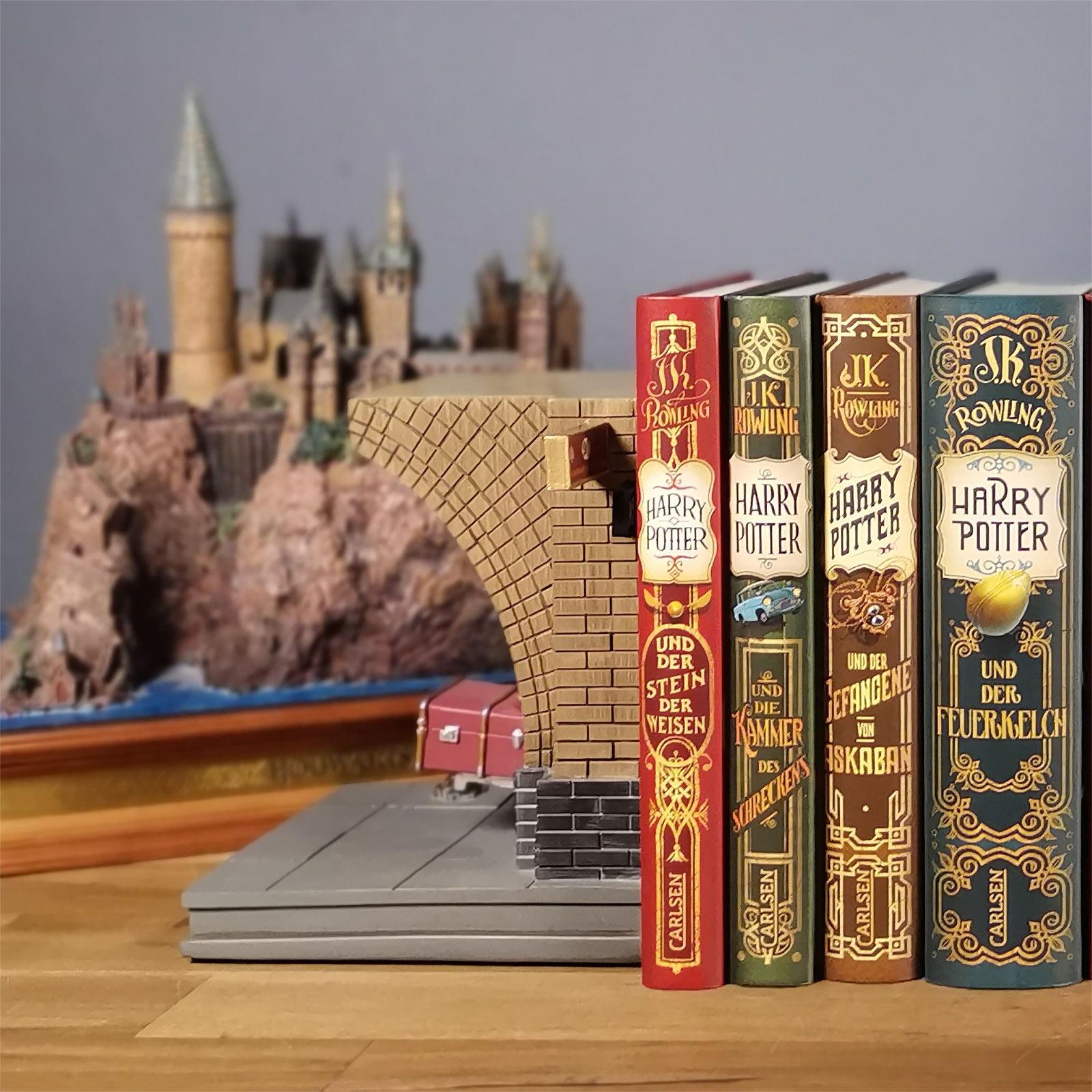 Harry Potter - Gleis 9 3/4 Buchstützen
