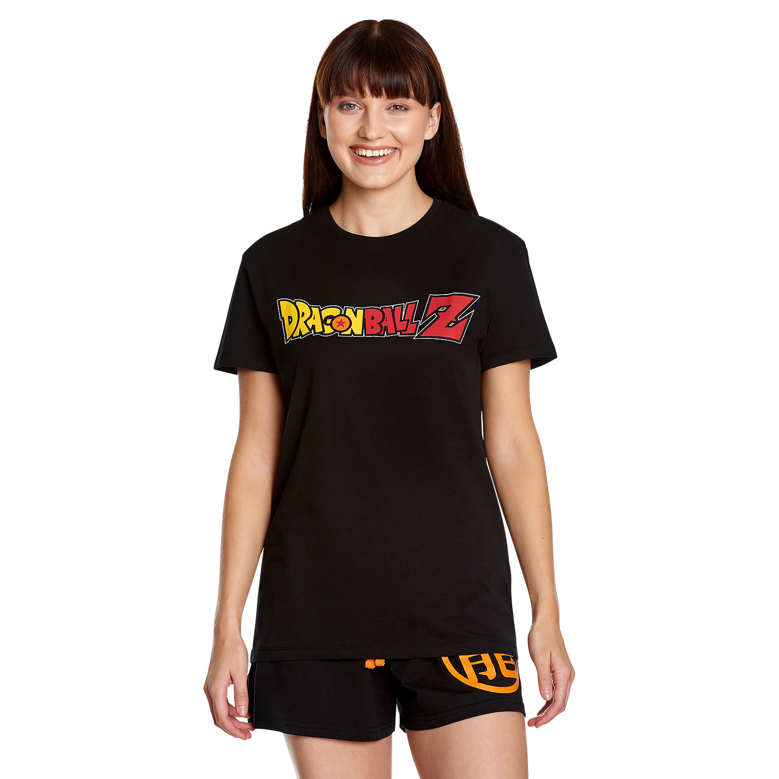 Dragon Ball - Crystal Ball Pyjama kurz schwarz