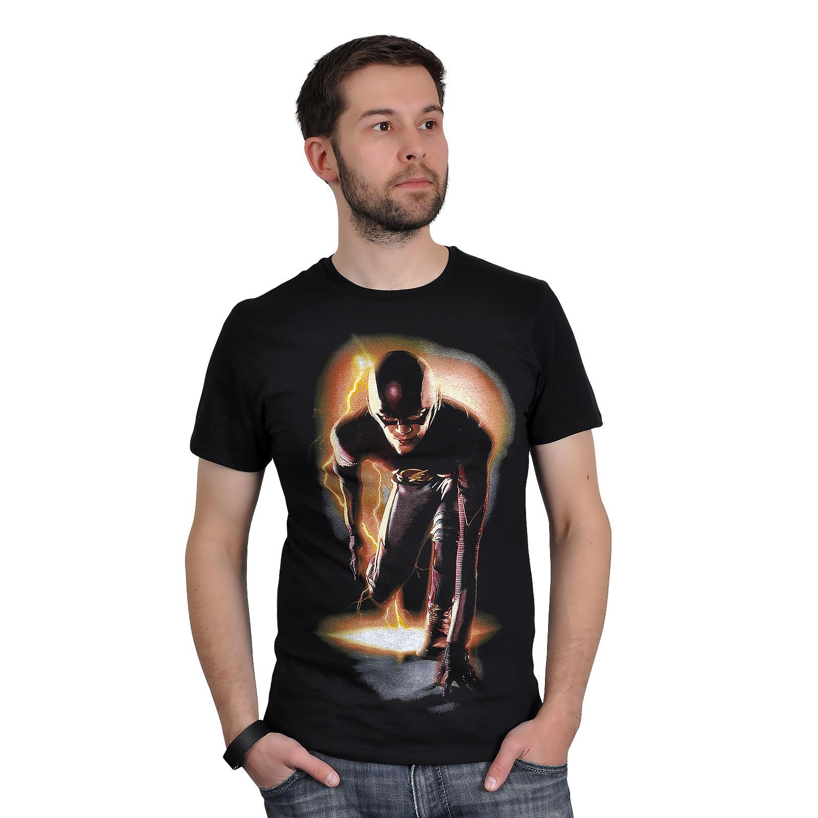 Flash - Starting Block T-Shirt schwarz
