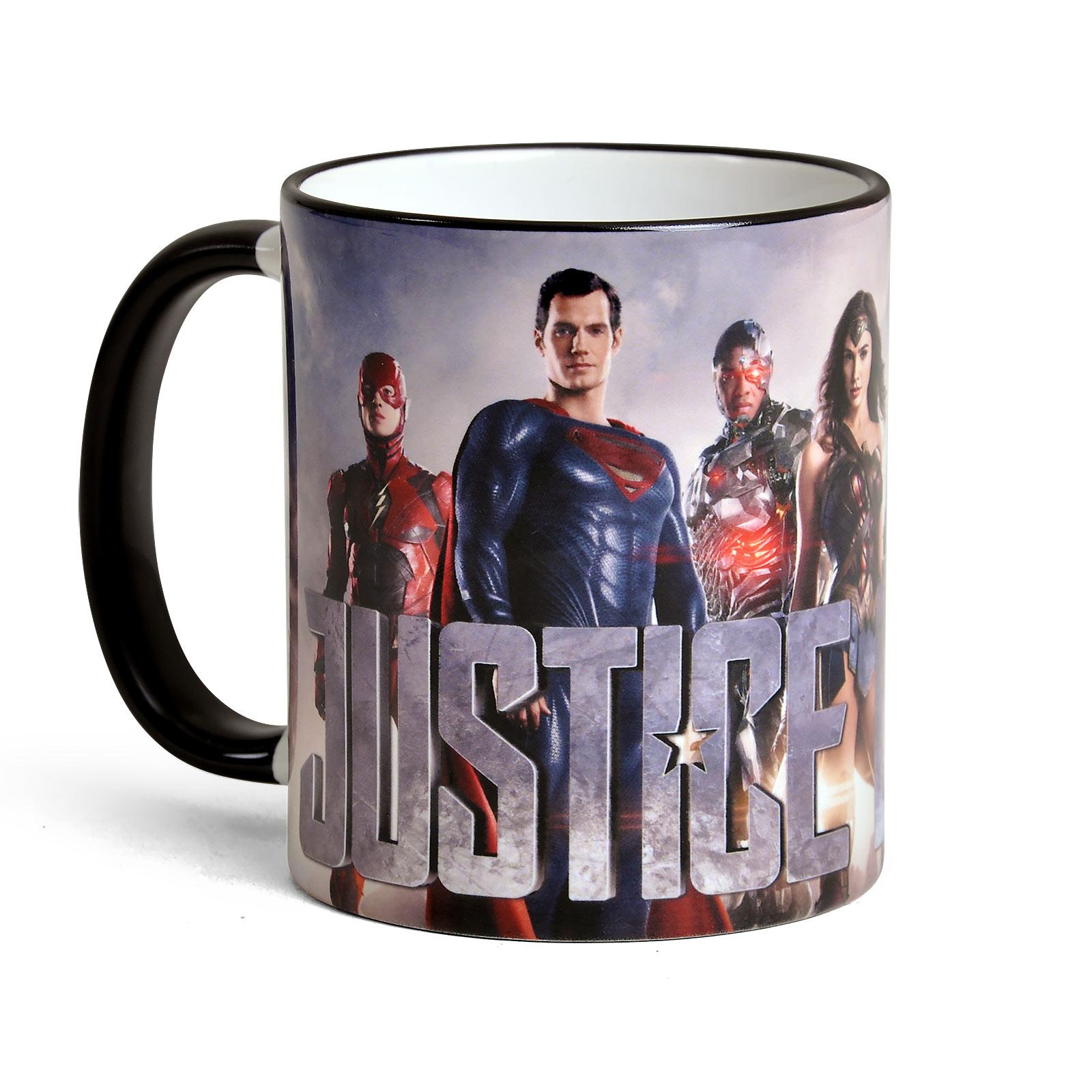 Justice League - Collage Tasse