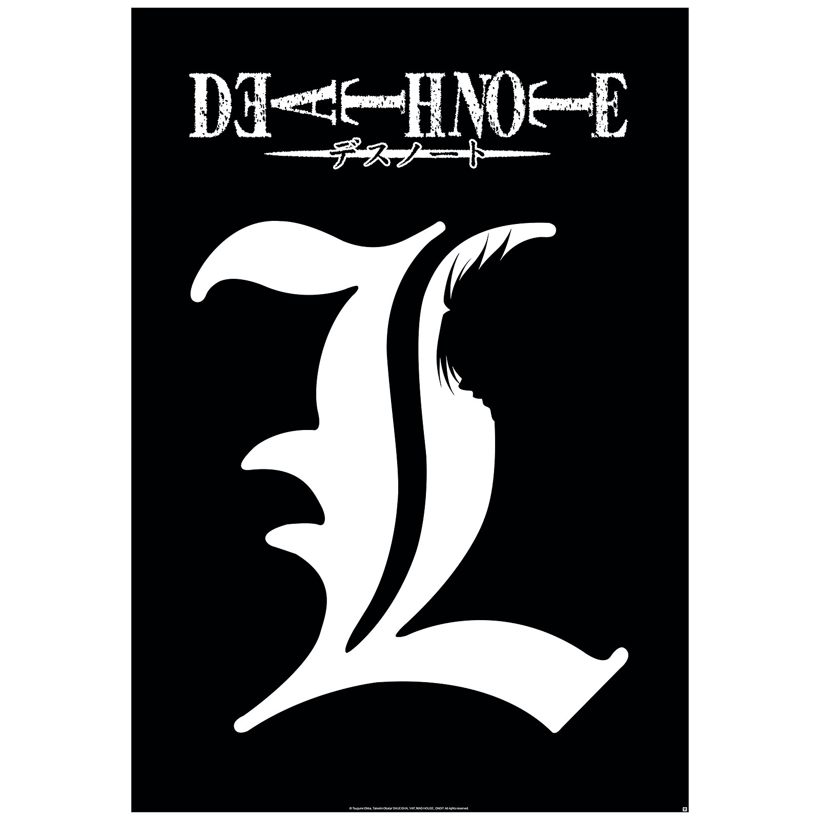 Death Note - L Symbol Maxi Poster