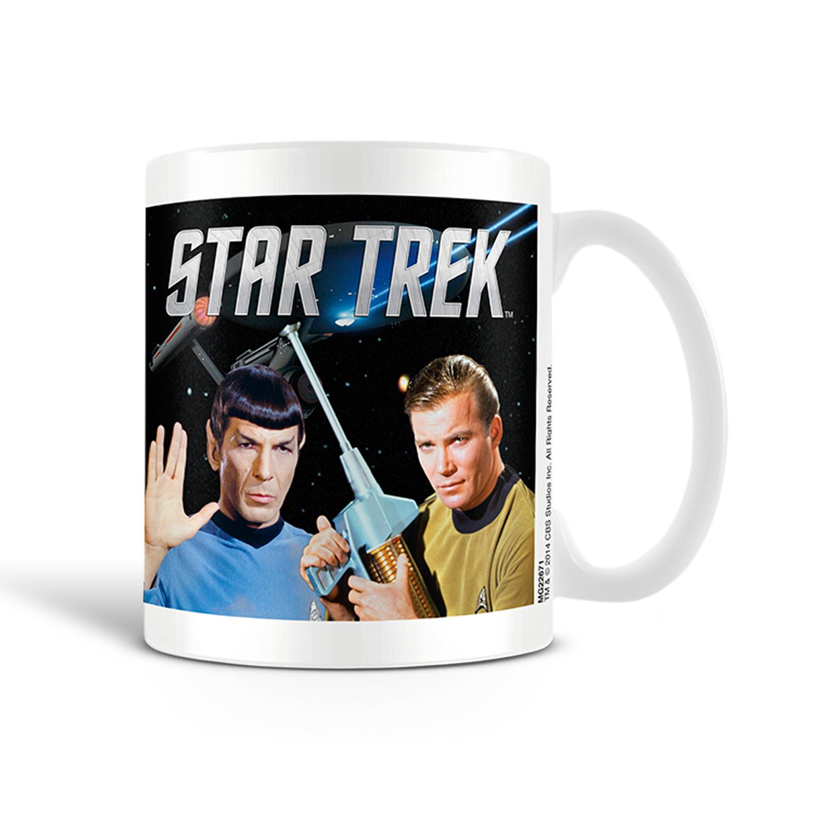 Star Trek - Kirk und Spock Tasse