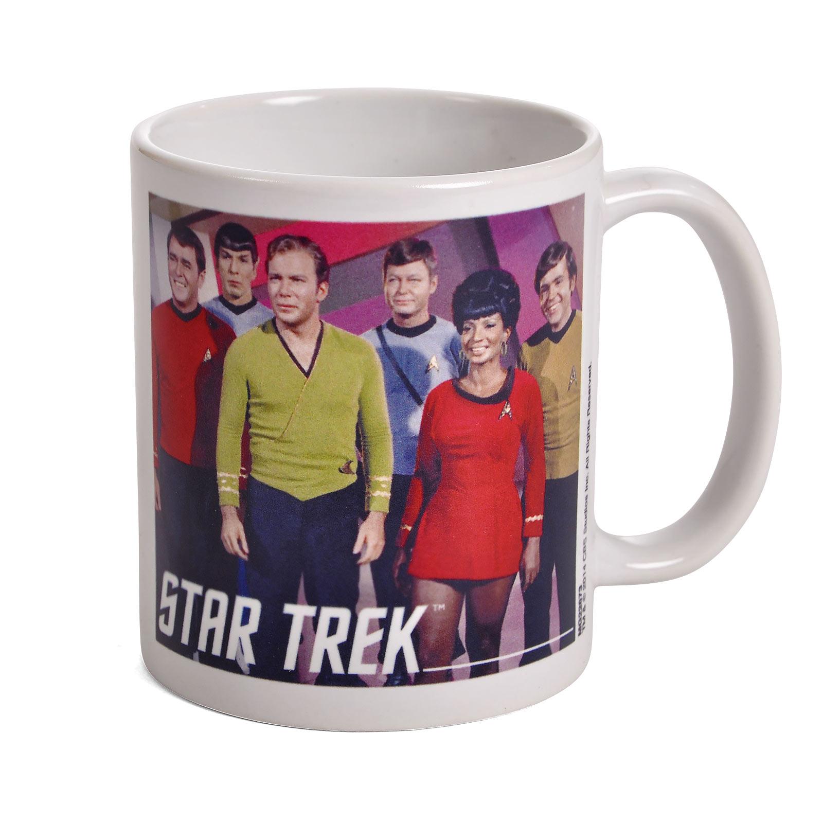Star Trek - Enterprise Crew Tasse