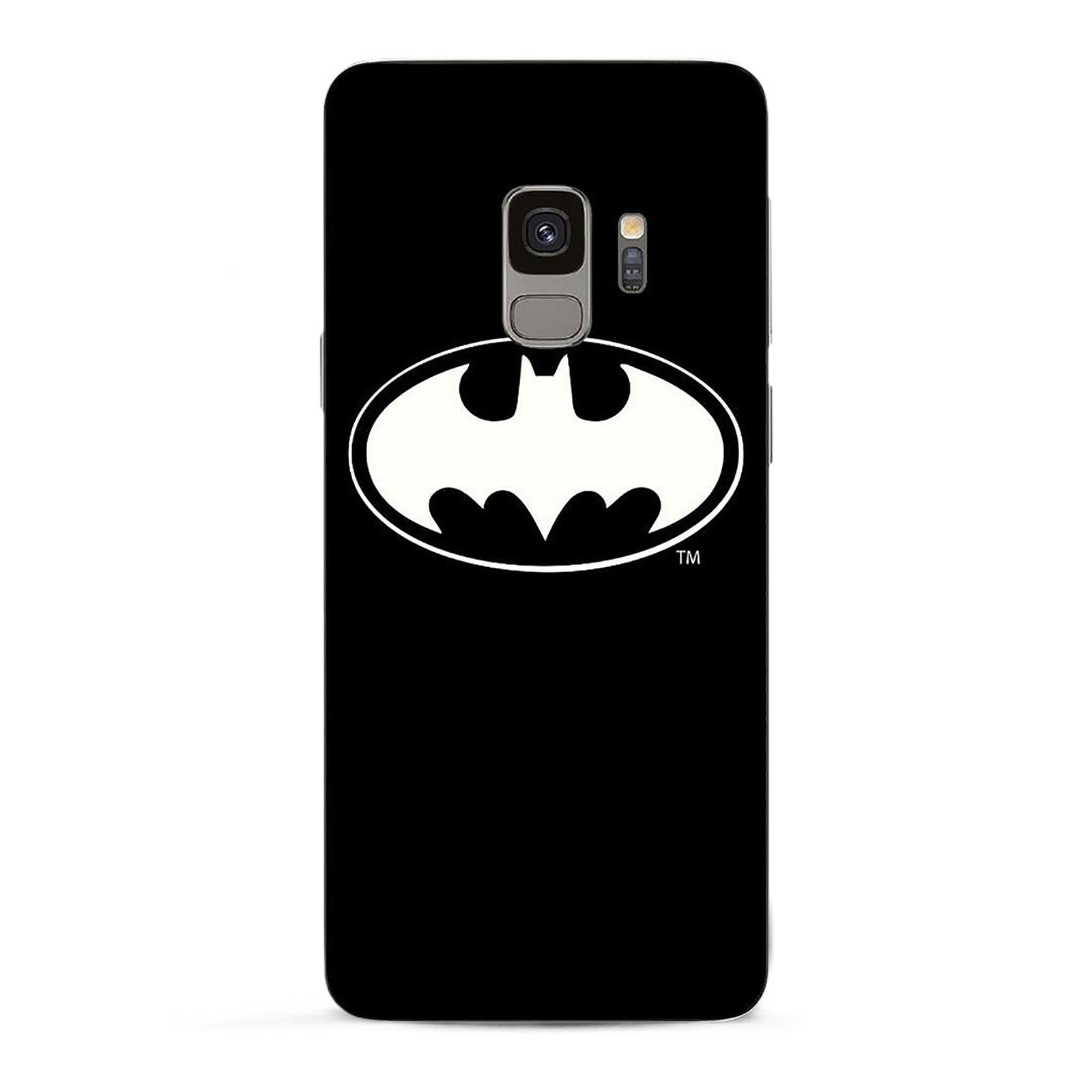 Batman - Logo Samsung Galaxy S9 Handyhülle Silikon schwarz