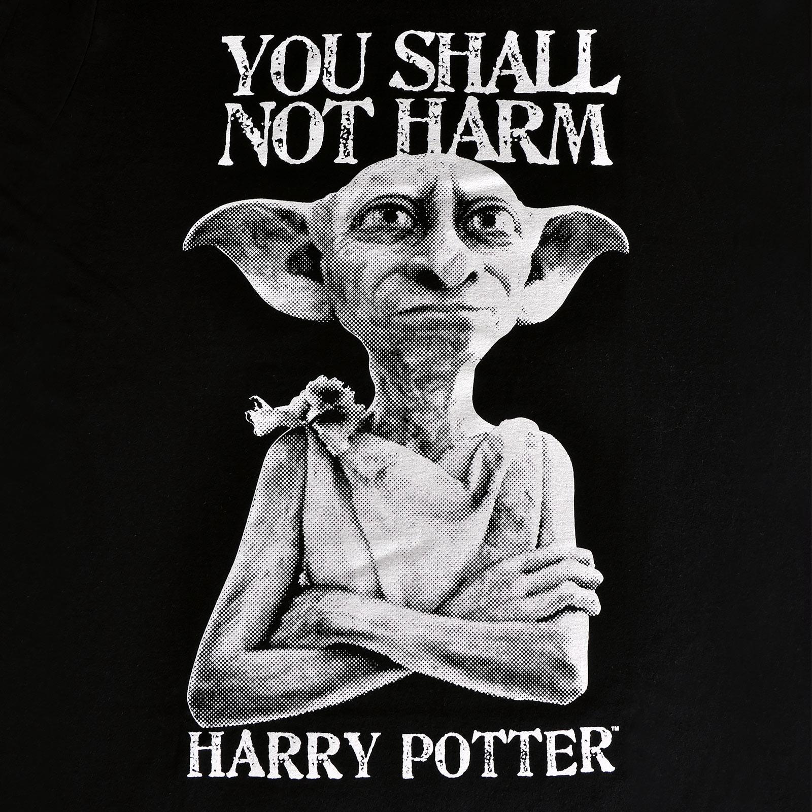 Harry Potter - Dobby You Shall Not Harm T-Shirt schwarz