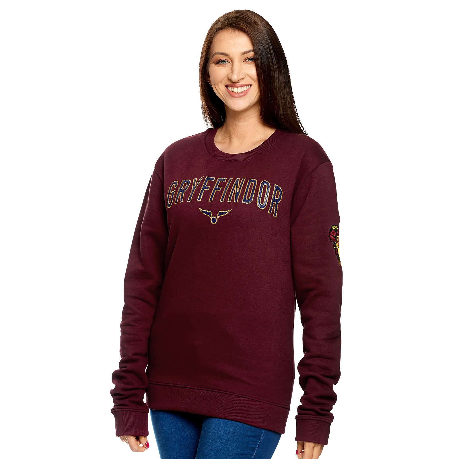 Harry Potter - Team Gryffindor Sweater rot