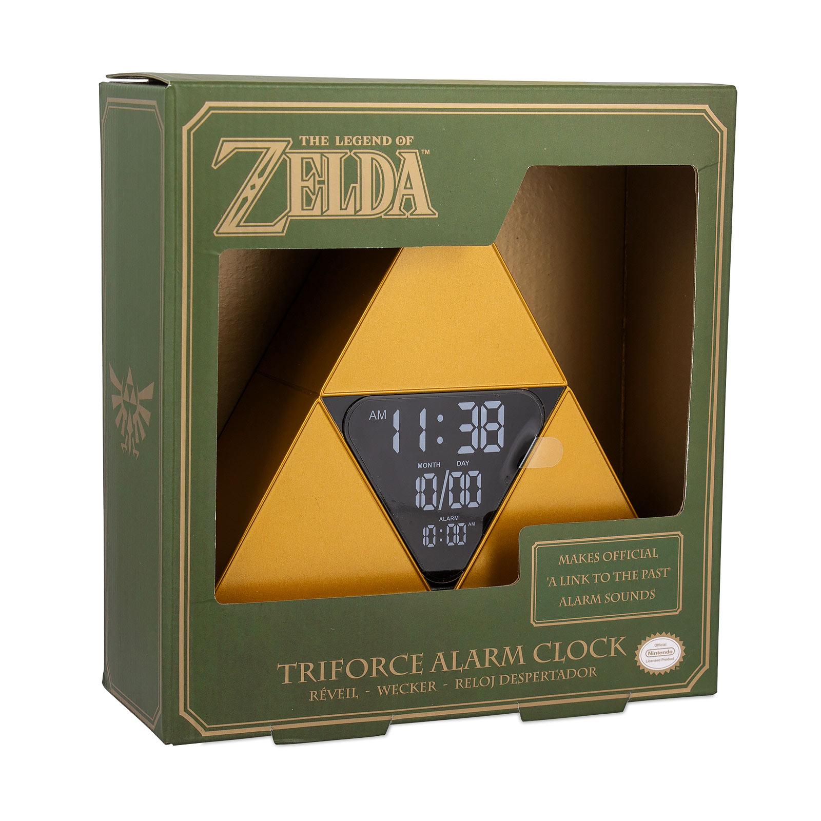 Zelda - Triforce Wecker