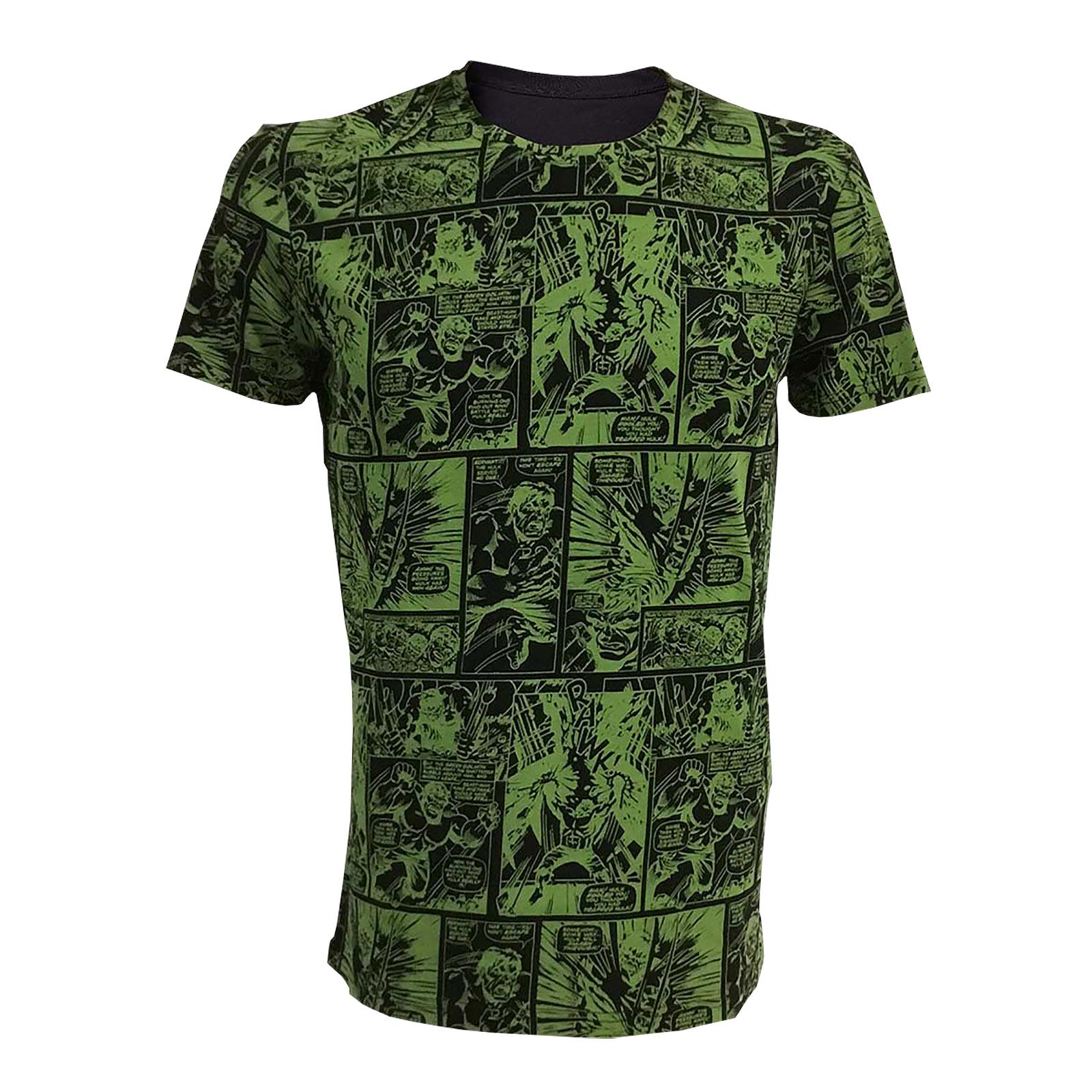 Hulk - Marvel T-Shirt grün