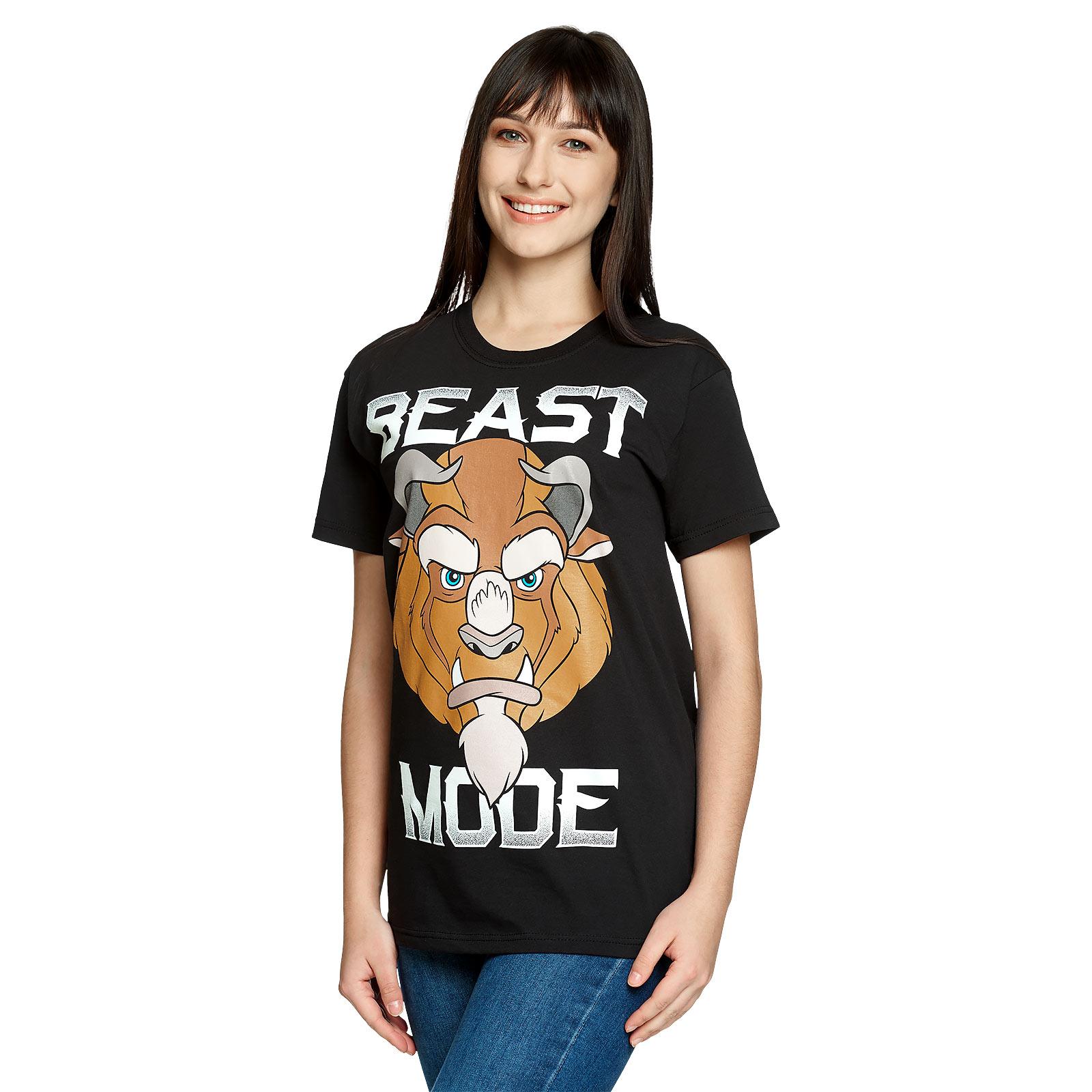 Die Schöne und das Biest - Beast Mode T-Shirt schwarz