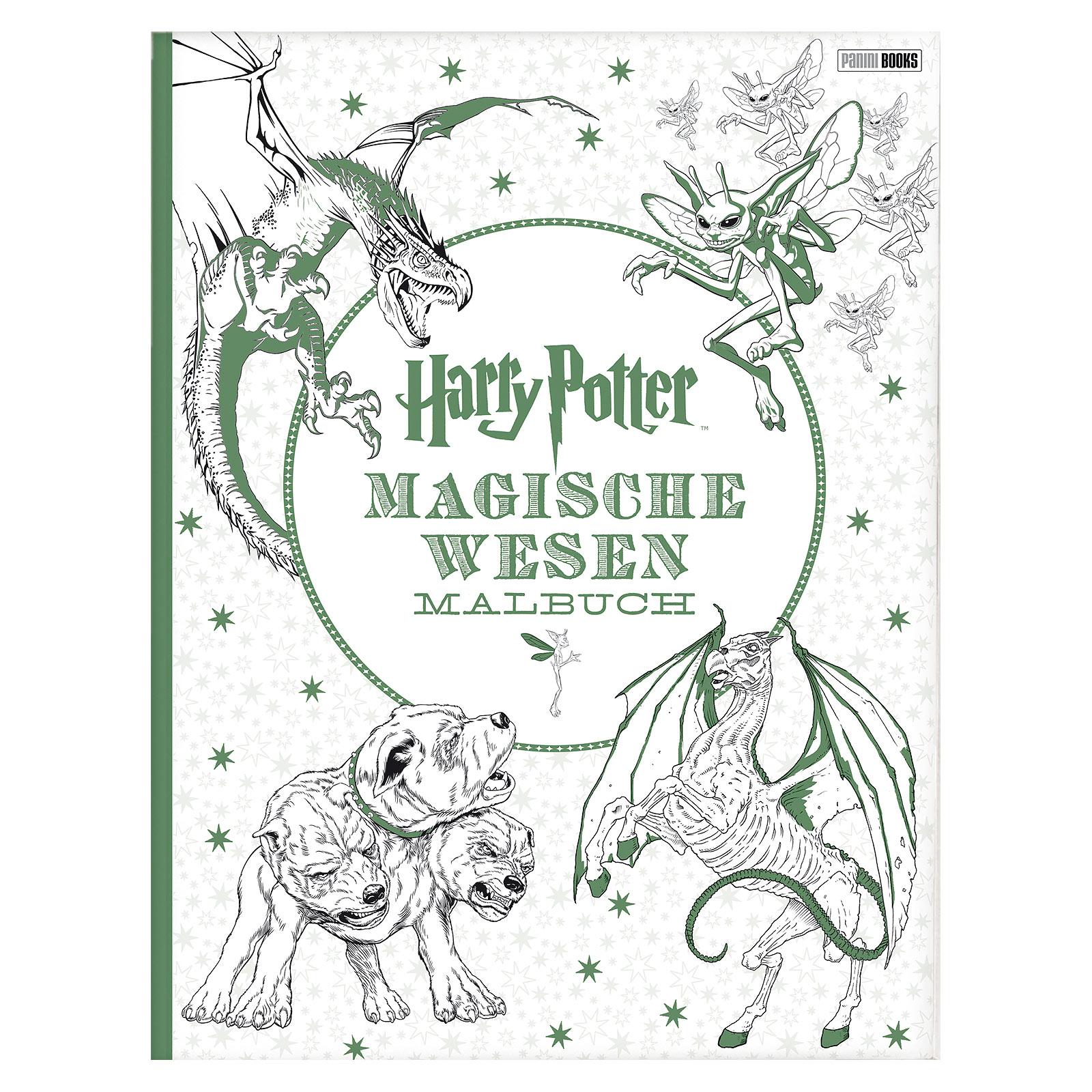 Harry Potter - Magische Wesen Malbuch