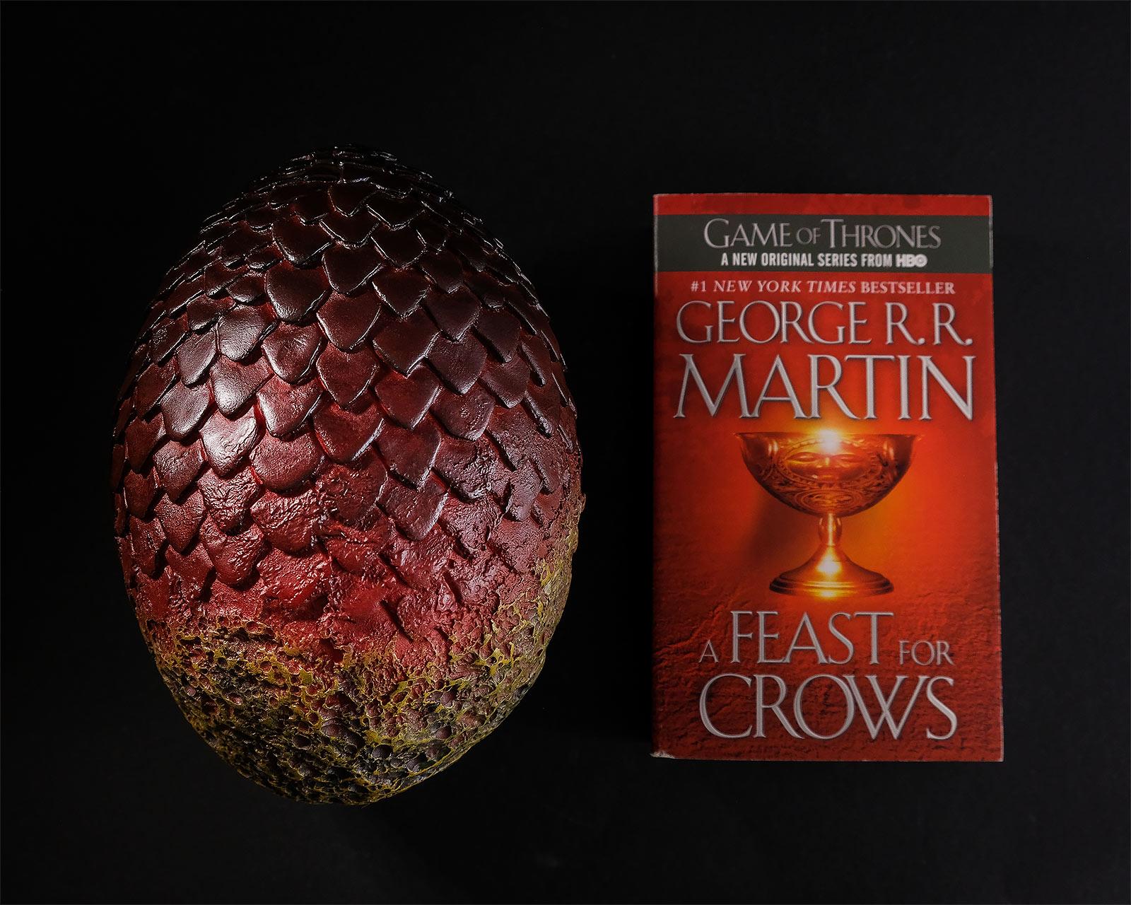 Game of Thrones - Drogon Drachenei rot