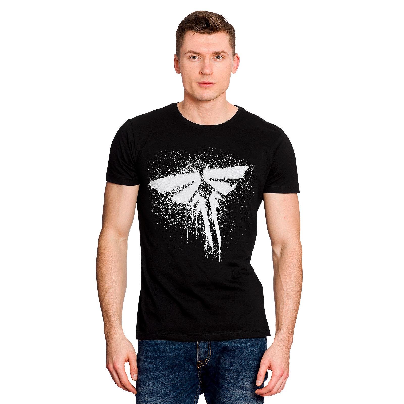 The Last of Us - Fireflies Logo T-Shirt schwarz