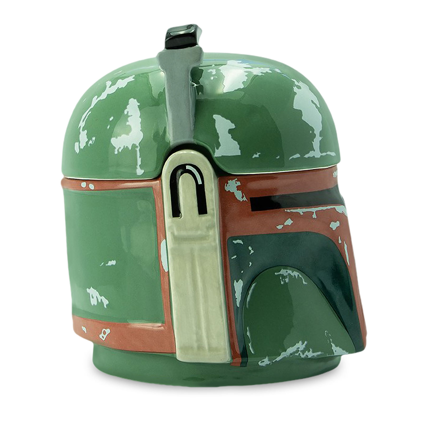 Star Wars - Boba Fett Helm 3D Tasse mit Deckel