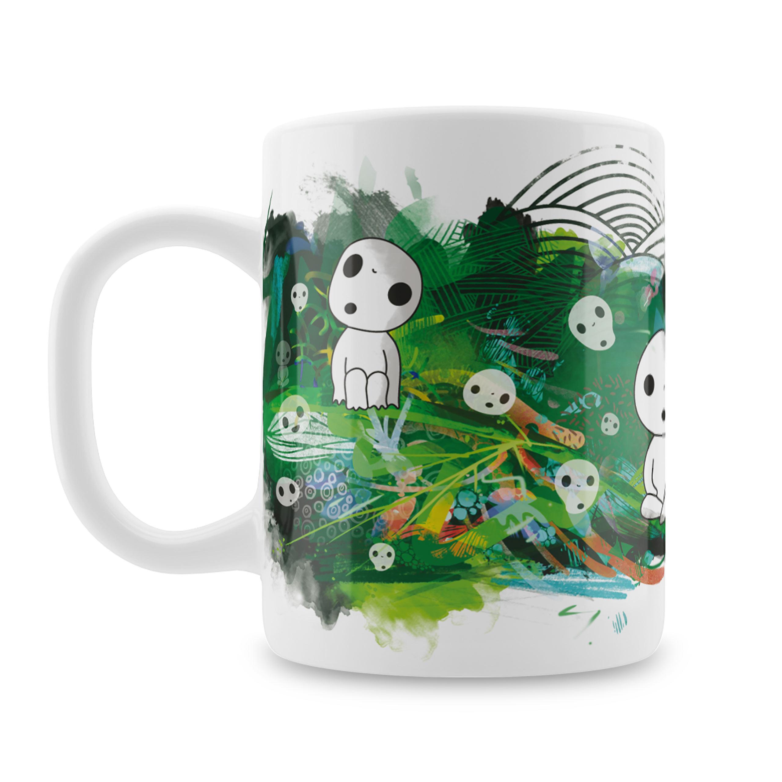 Nekodama Baumgeister Tasse für Prinzessin Mononoke Fans