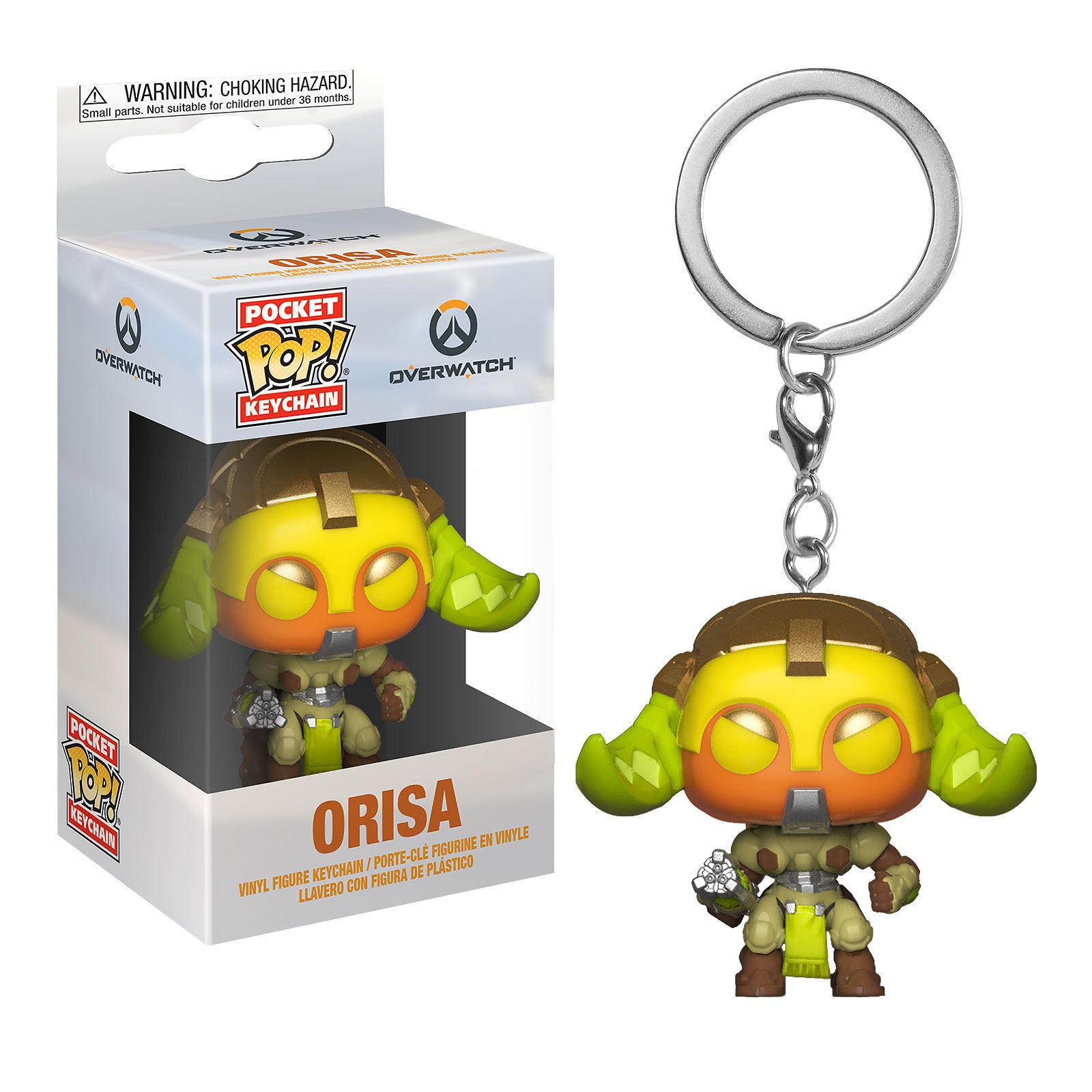 Overwatch - Orisa Funko Pop Schlüsselanhänger