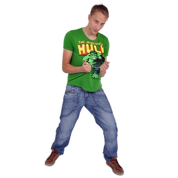 Hulk Retro T-Shirt grün