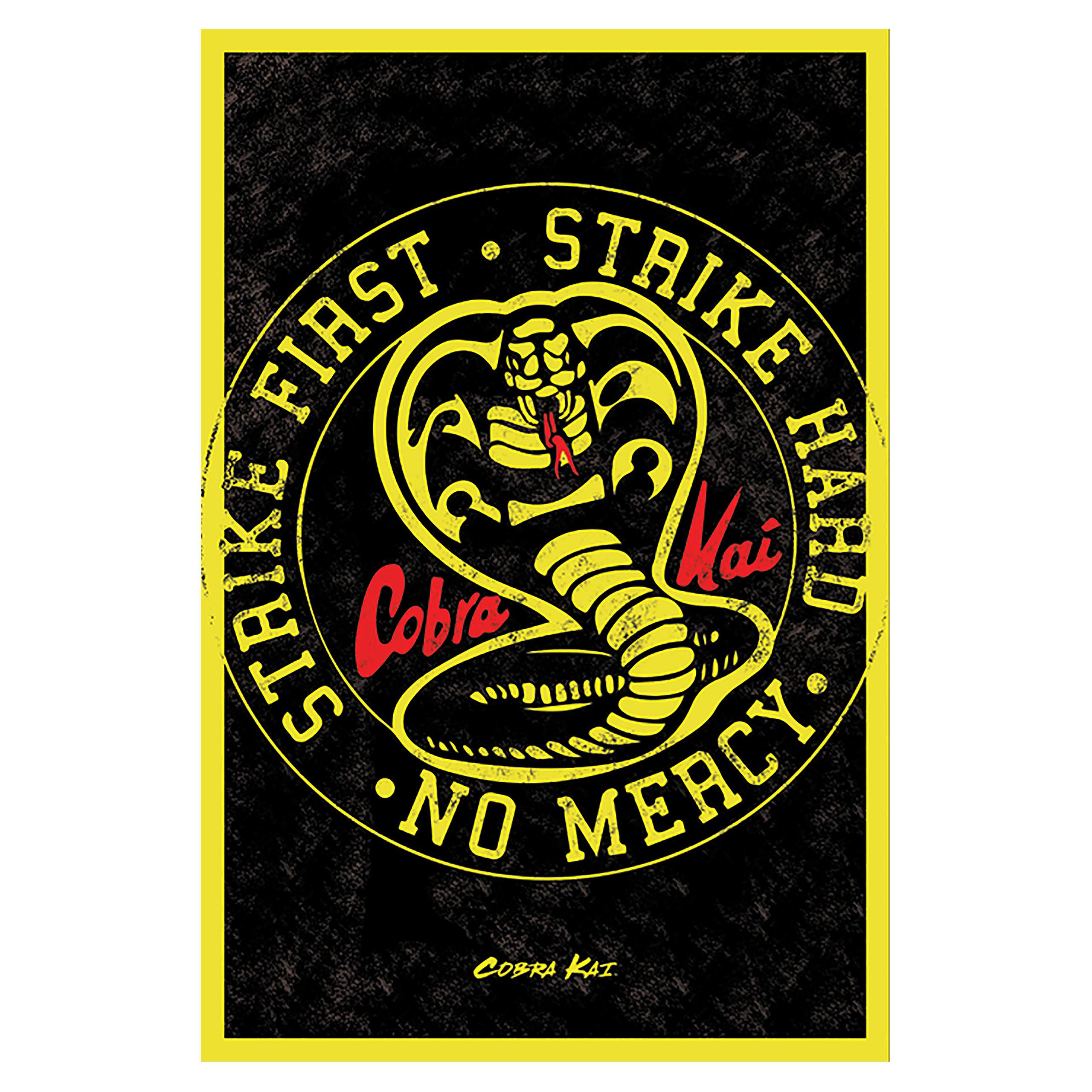 Cobra Kai - No Mercy Maxi Poster