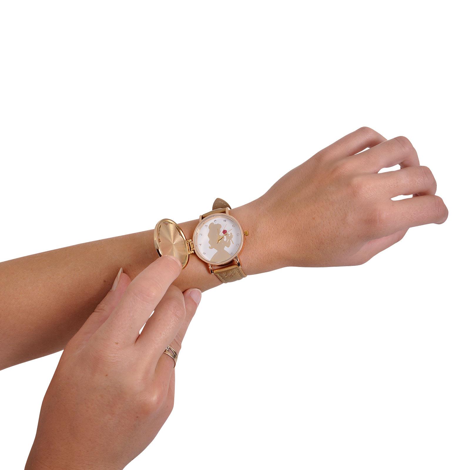 Die Schöne und das Biest - Enchanted Rose Armbanduhr